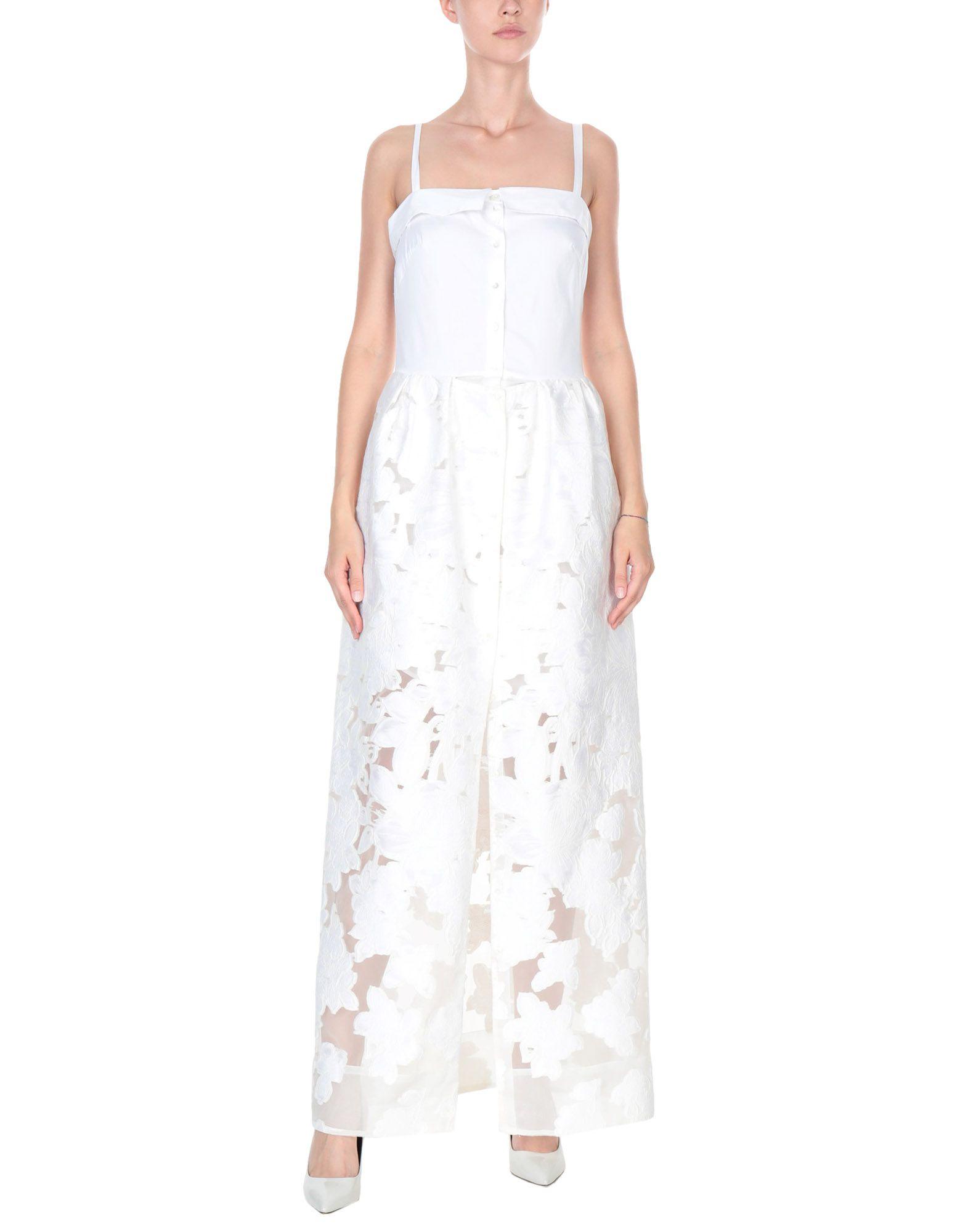 SARA ROKA Длинное платье платье рубашка fox yulia sway платье рубашка fox