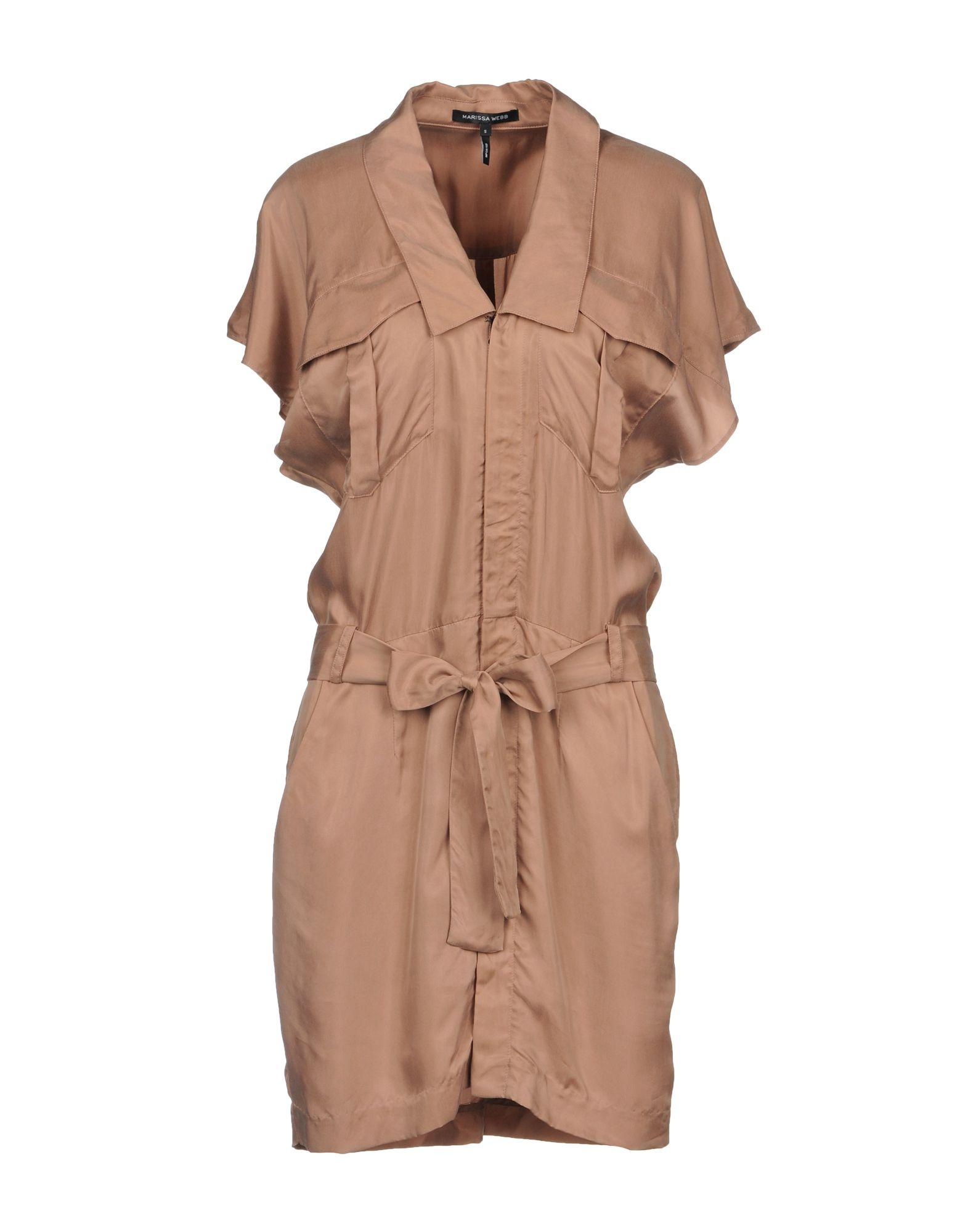 MARISSA WEBB Короткое платье рубашки webb