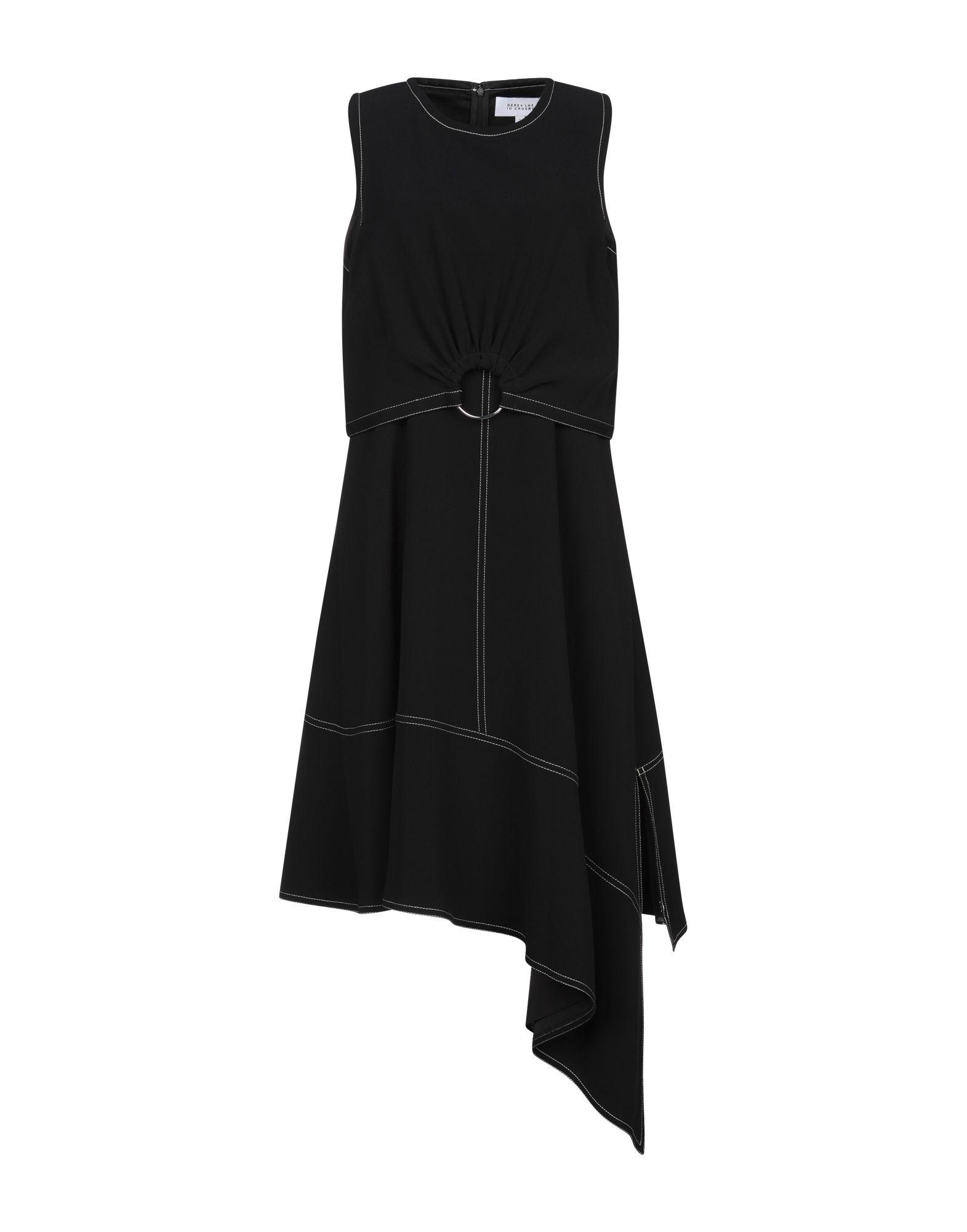 DEREK LAM 10 CROSBY Платье до колена derek lam шелковое платье