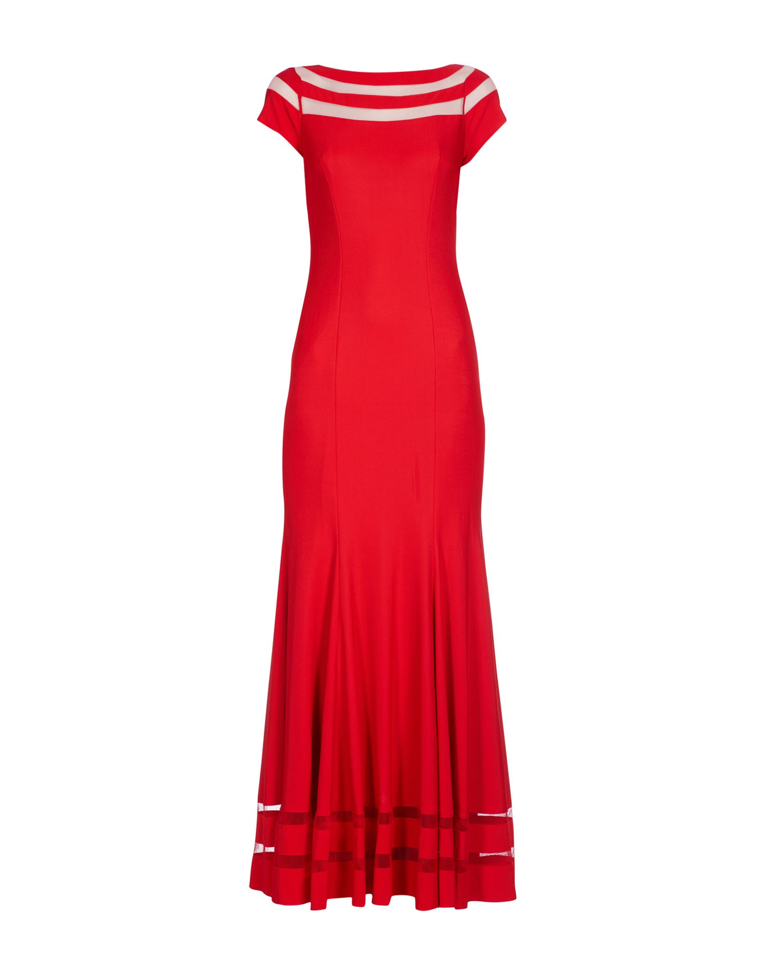 MIKAEL AGHAL Long Dresses in Red