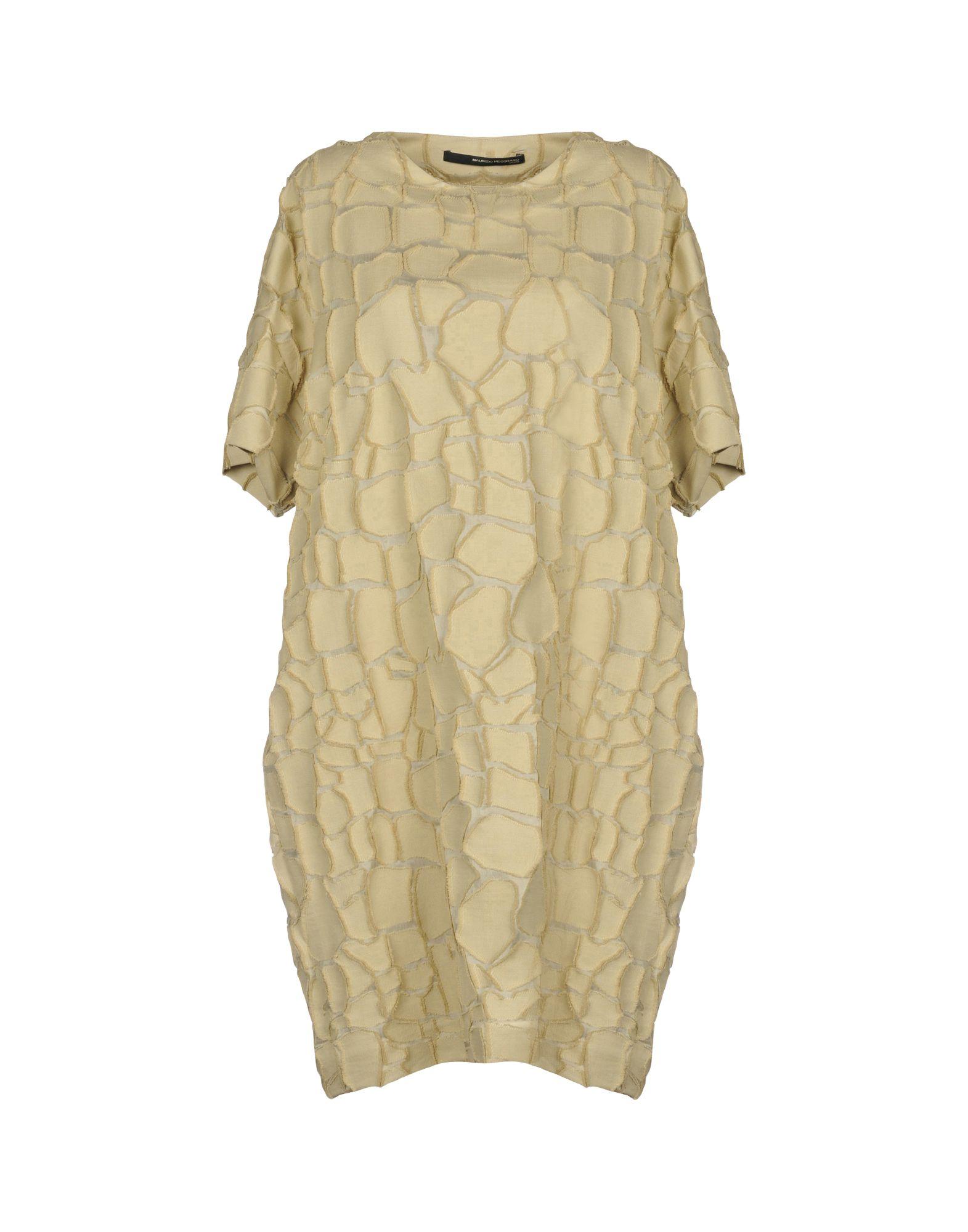 MAURIZIO PECORARO Короткое платье цена 2017