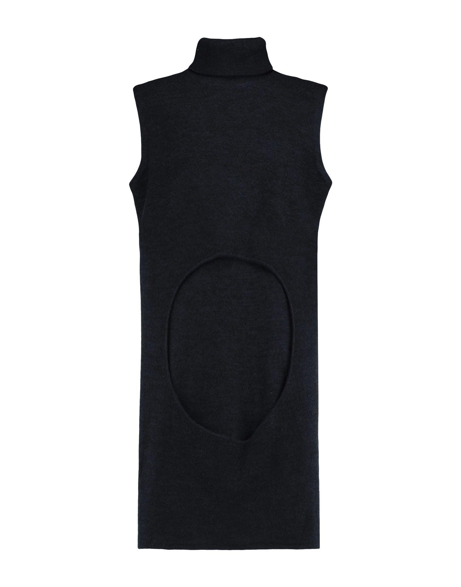 DION LEE Короткое платье céline dion bordeaux