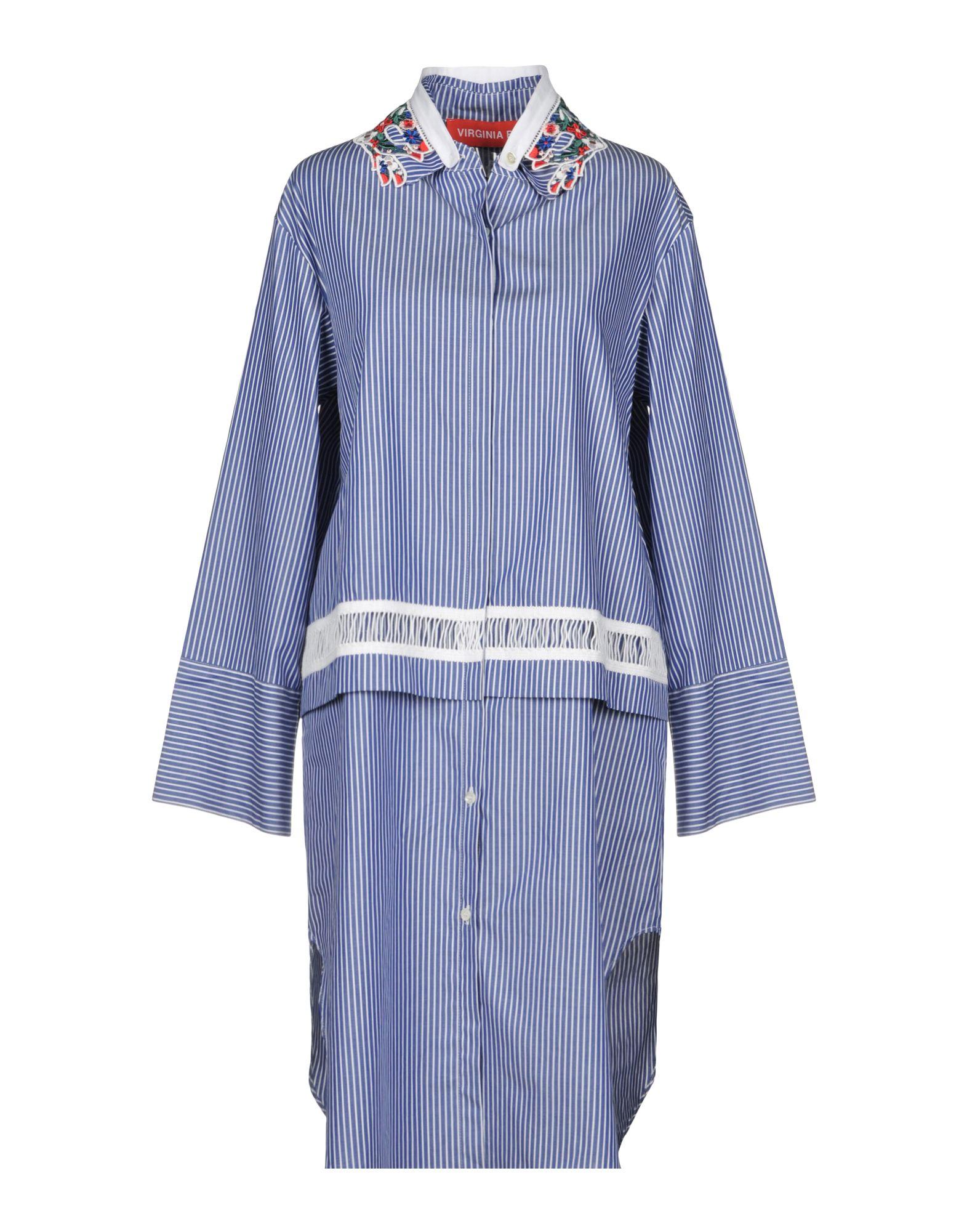 VIRGINIA BIZZI Платье до колена цена и фото