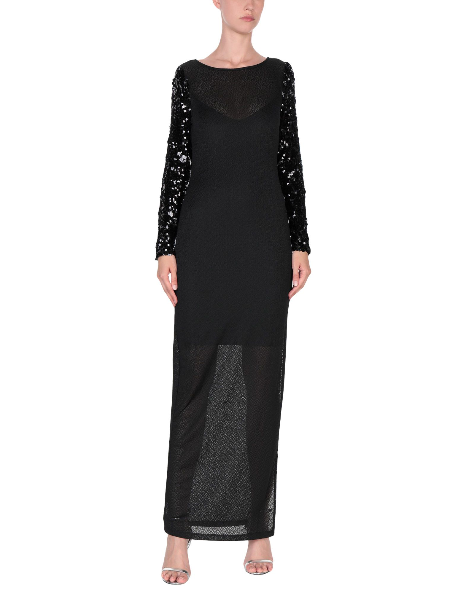 GUESS Длинное платье платье guess 2015