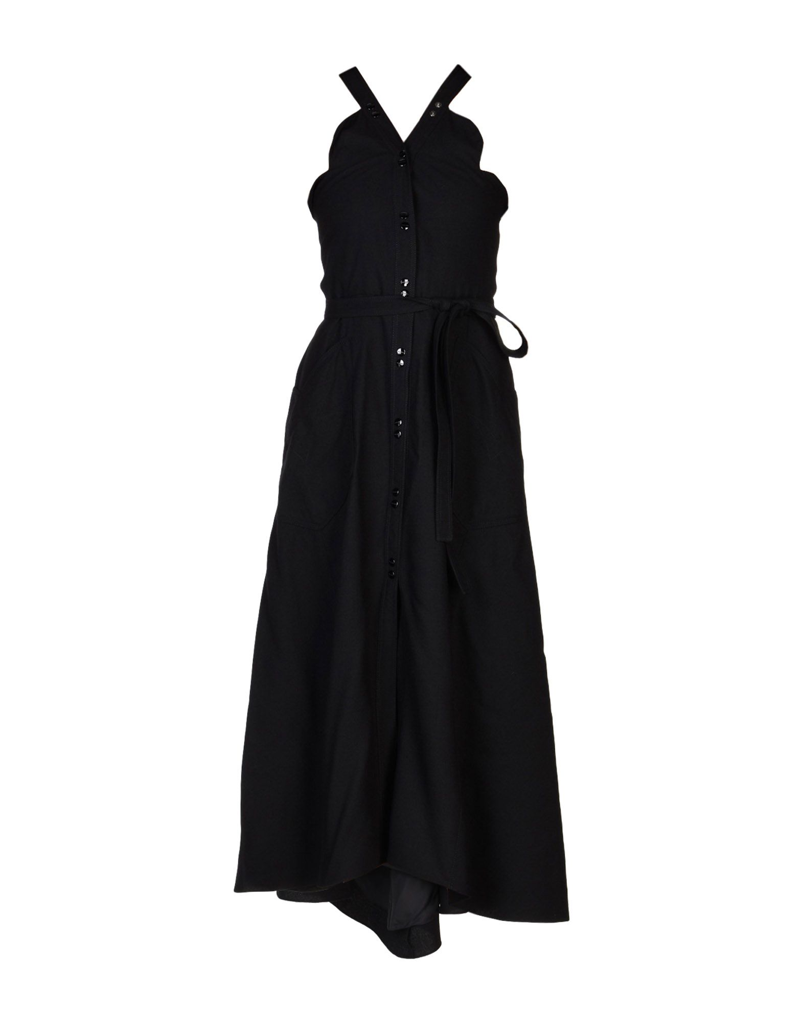 NINA RICCI Длинное платье платье с поясом nina ricci