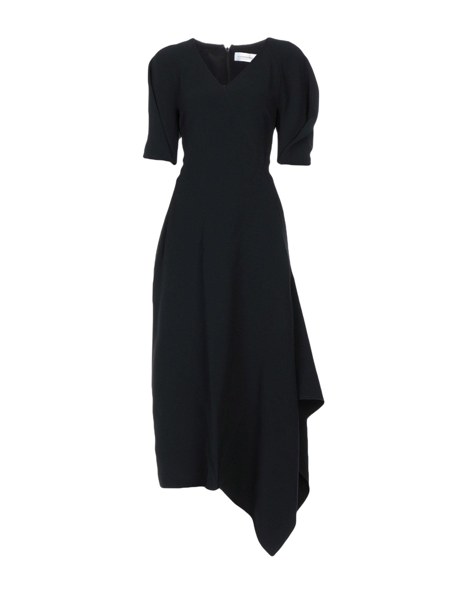 VICTORIA, VICTORIA BECKHAM Платье длиной 3/4 капри victoria beckham капри
