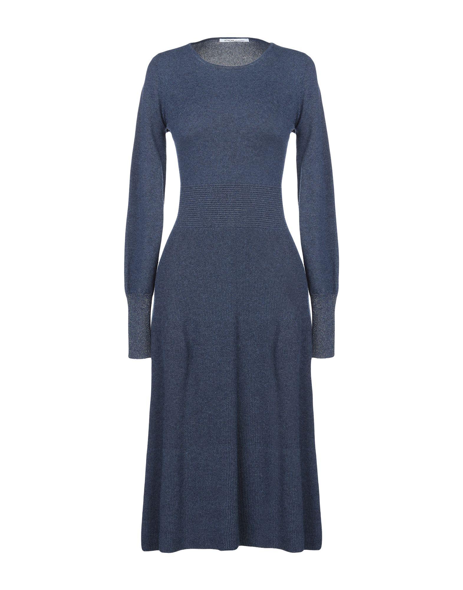 AGNONA Платье длиной 3/4 agnona сандалии