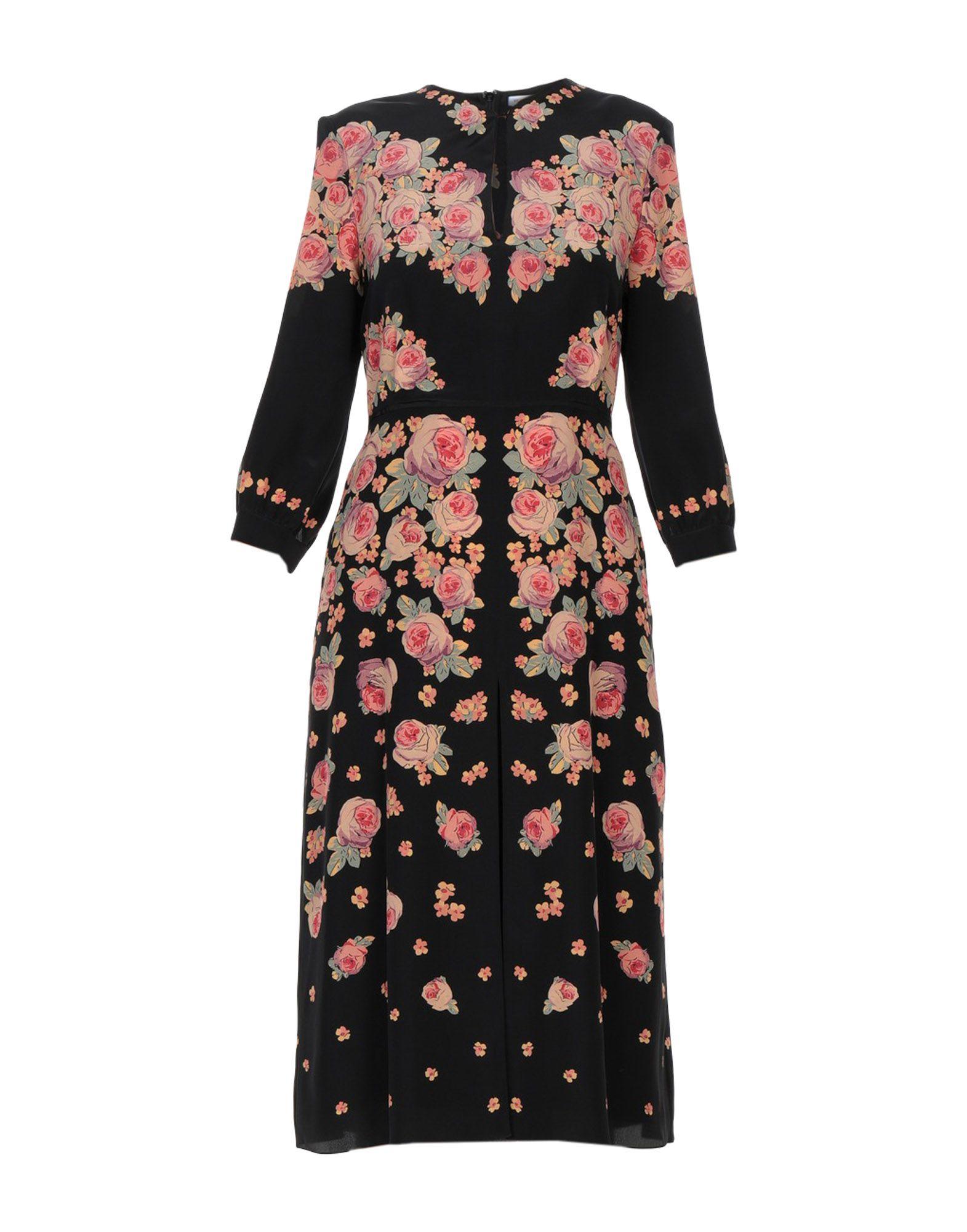 VILSHENKO Платье длиной 3/4 topshop платье длиной 3 4