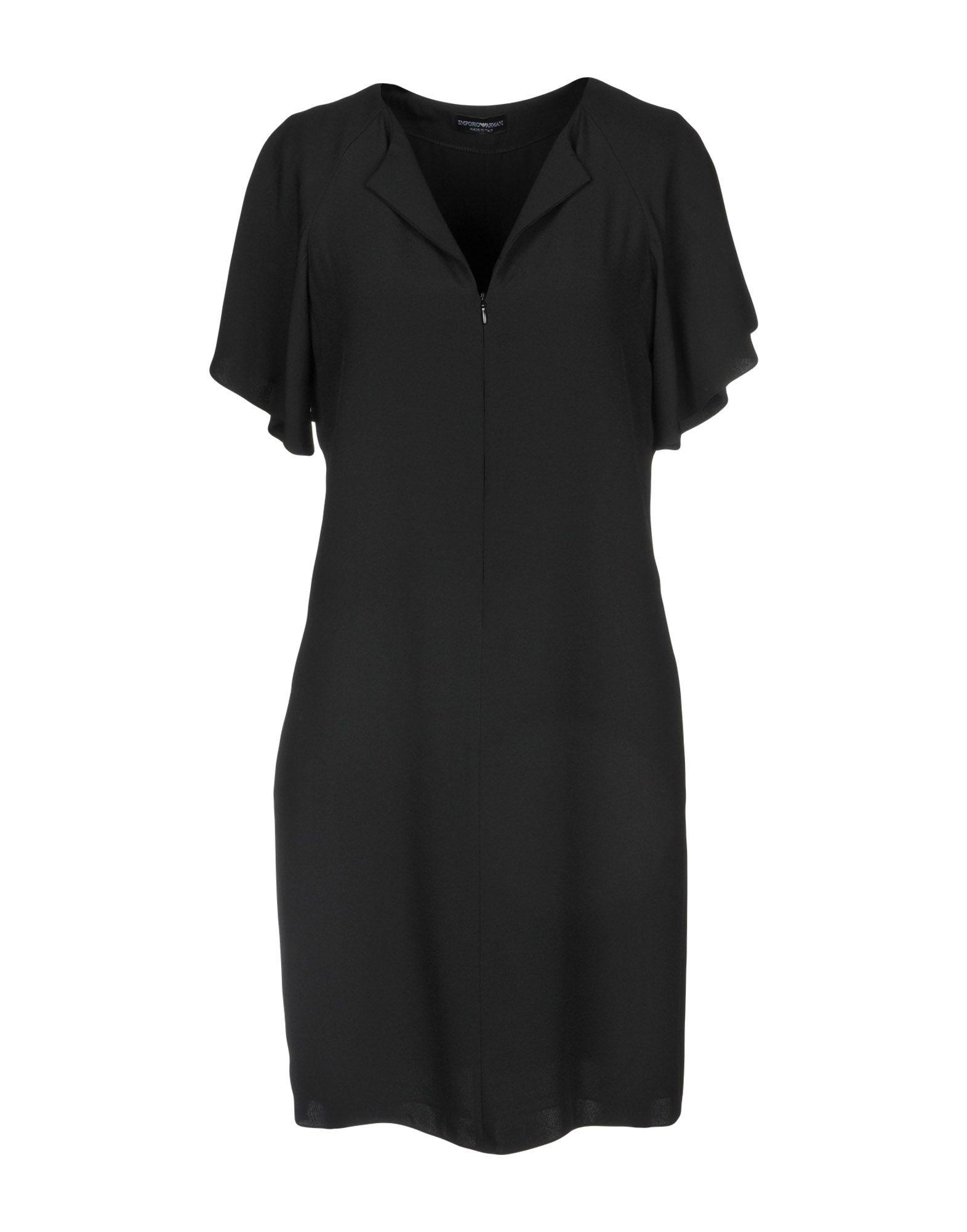 EMPORIO ARMANI Короткое платье цены онлайн