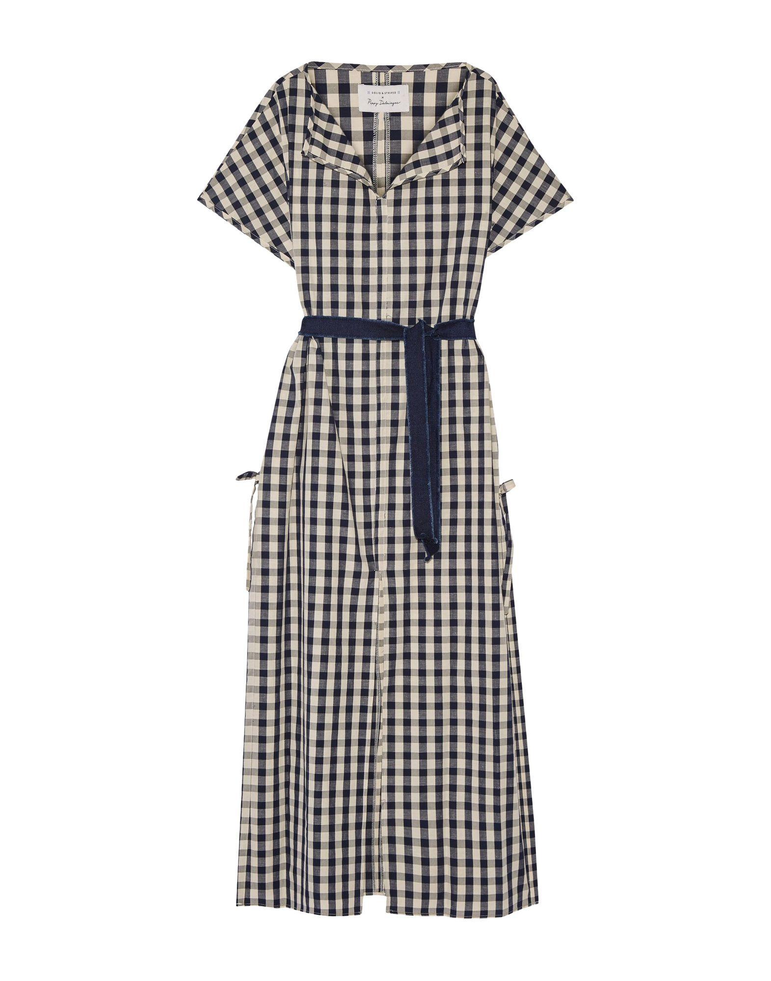 SOLID & STRIPED Длинное платье striped longline tshirt