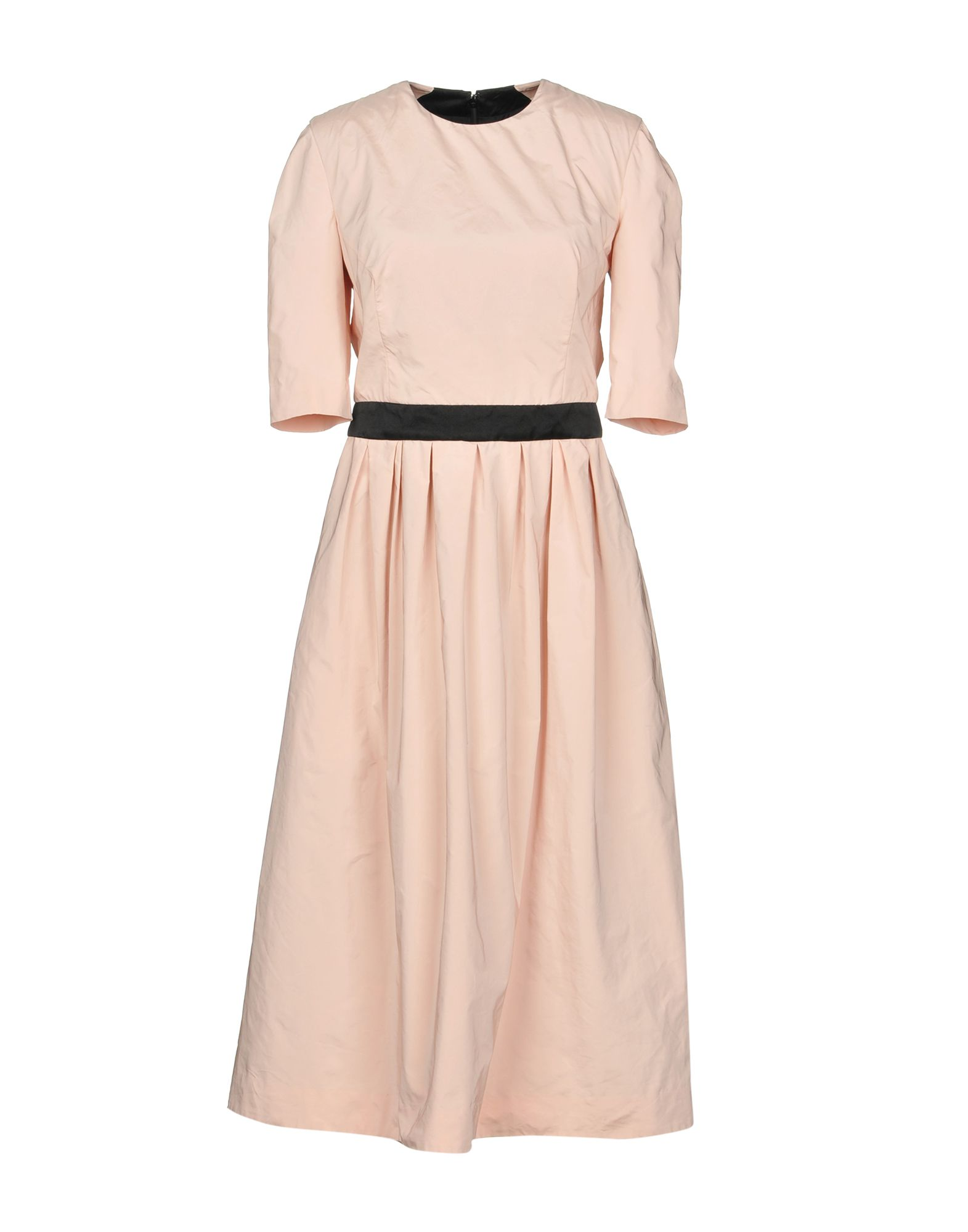 CREATURES OF THE WIND Midi Dress in Pink