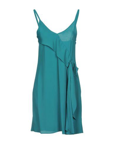 Купить Женское короткое платье CARLA G. бирюзового цвета