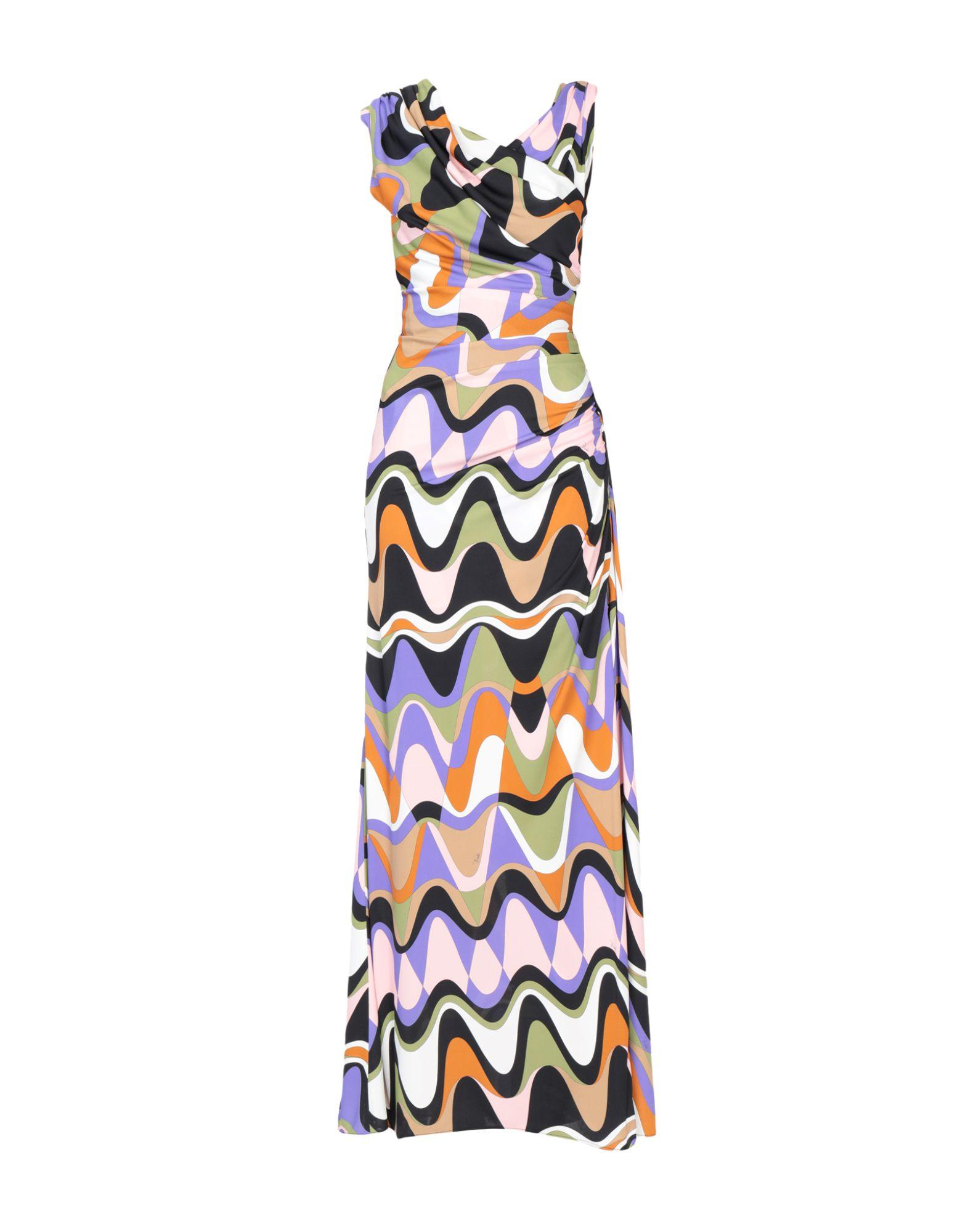 EMILIO PUCCI Длинное платье hitorat платье элегантной моды юбка 2015 осень зима новый стиль длинное платье рукав