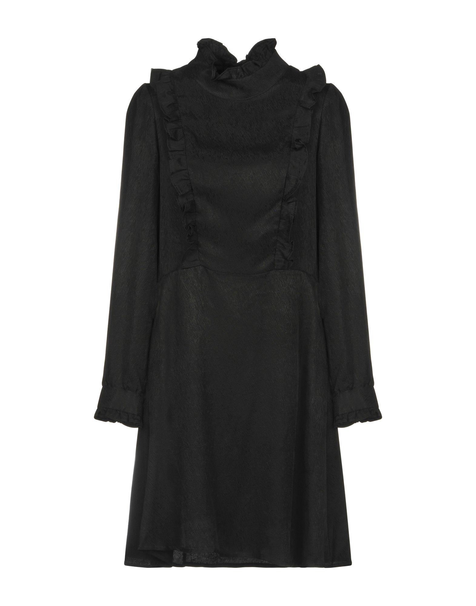 DEBY DEBO Short Dresses in Black