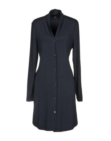 Купить Женское короткое платье CARLA G. темно-синего цвета
