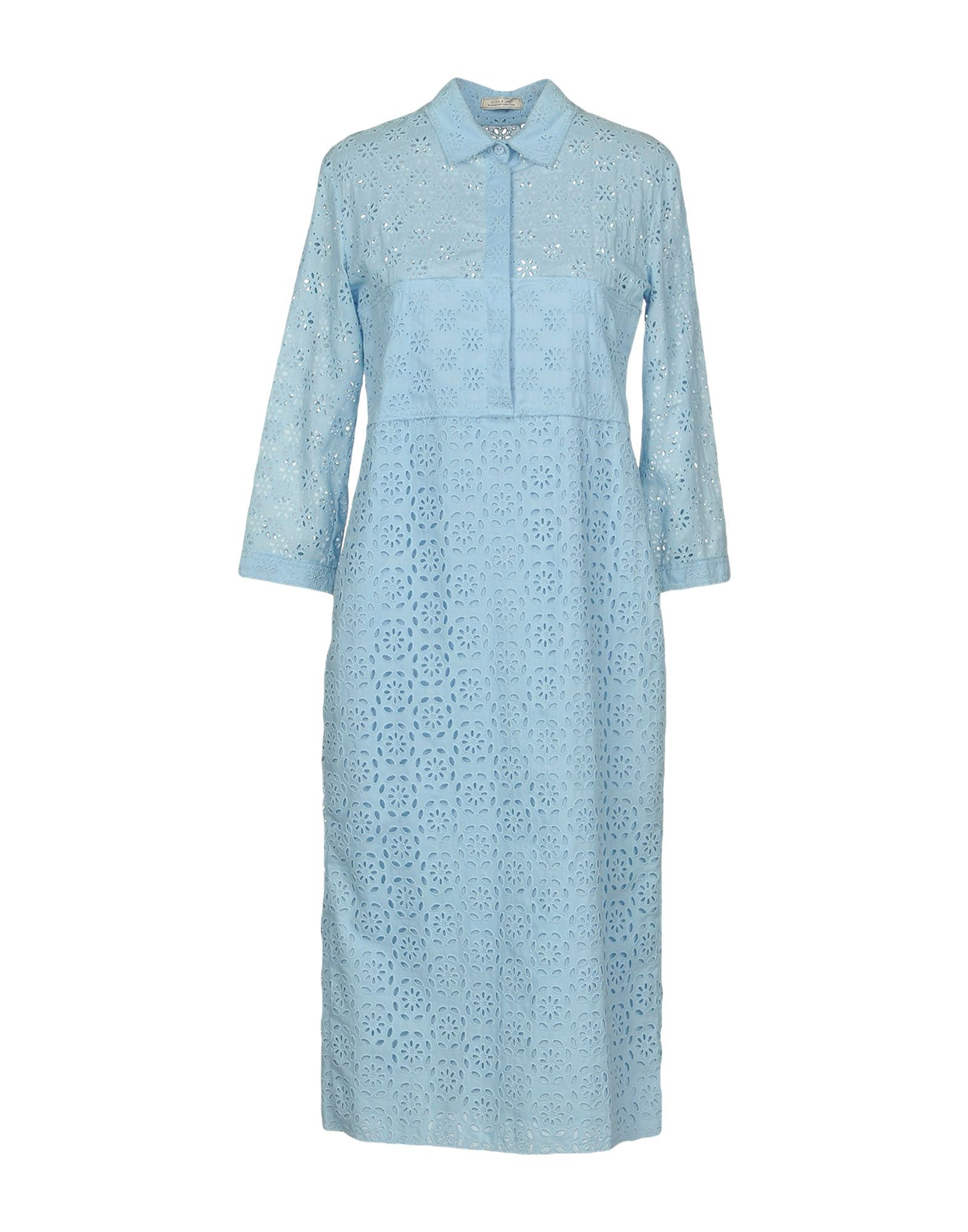 NINA RICCI Платье до колена nina ricci полосатая юбка