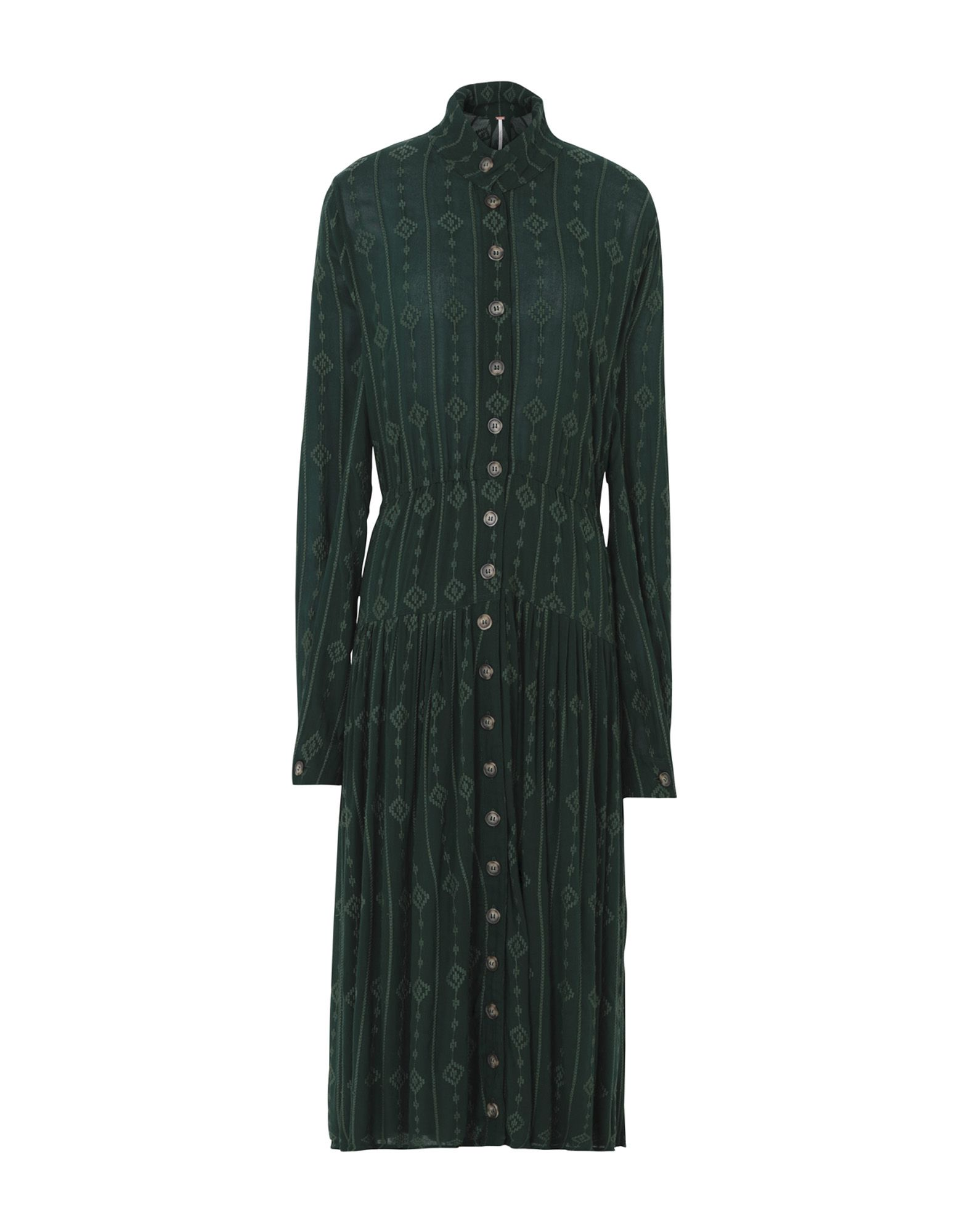 FREE PEOPLE Платье длиной 3/4 платье джинсовое free people free people fr045ewcbiq8
