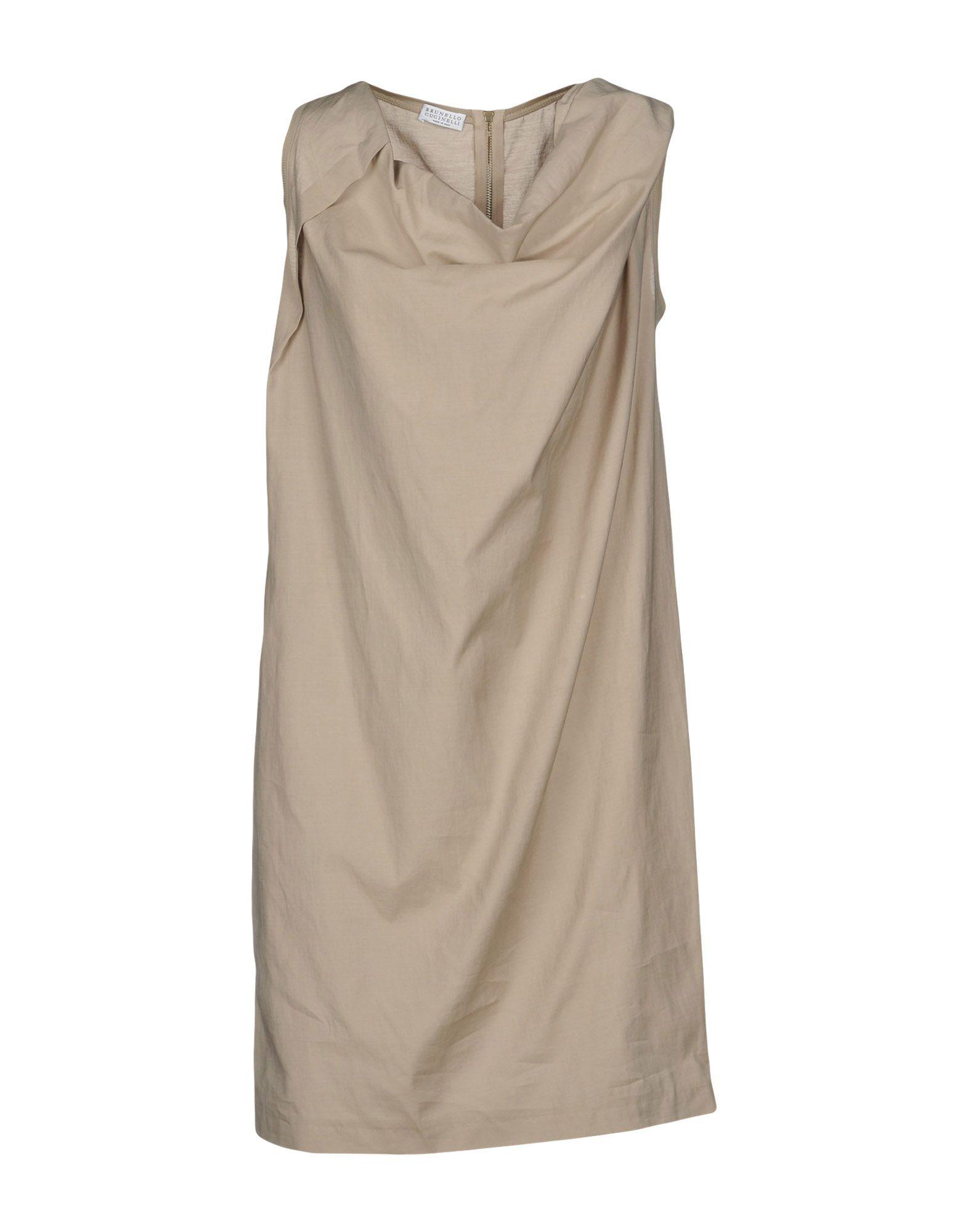 BRUNELLO CUCINELLI Короткое платье brunello cucinelli короткое платье