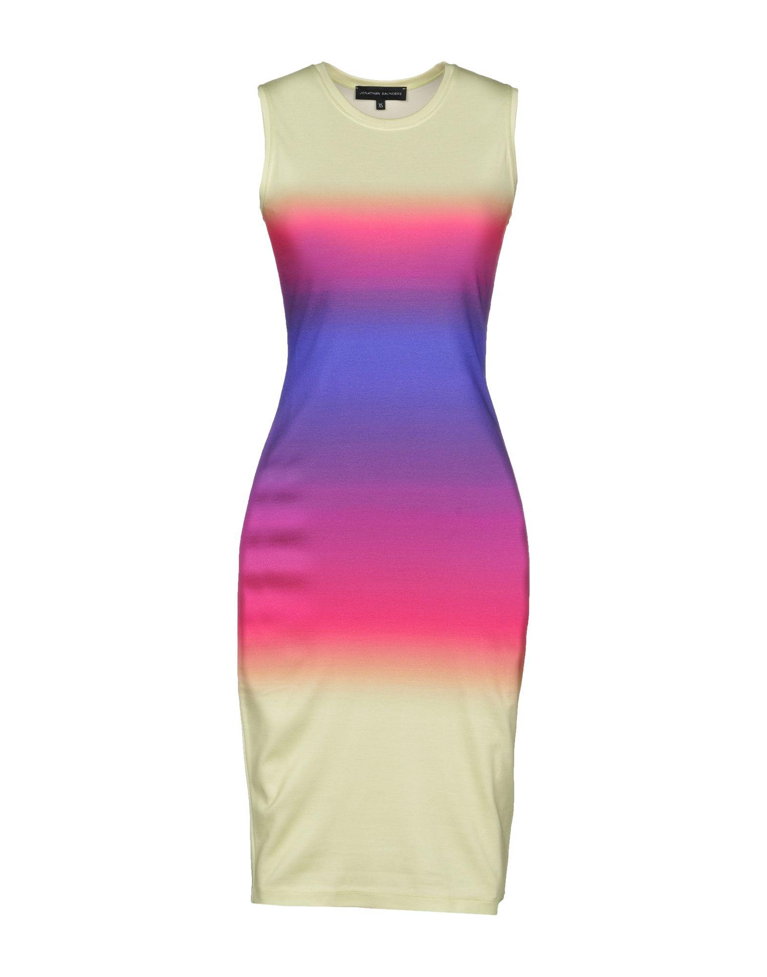 JONATHAN SAUNDERS Короткое платье jonathan saunders платок