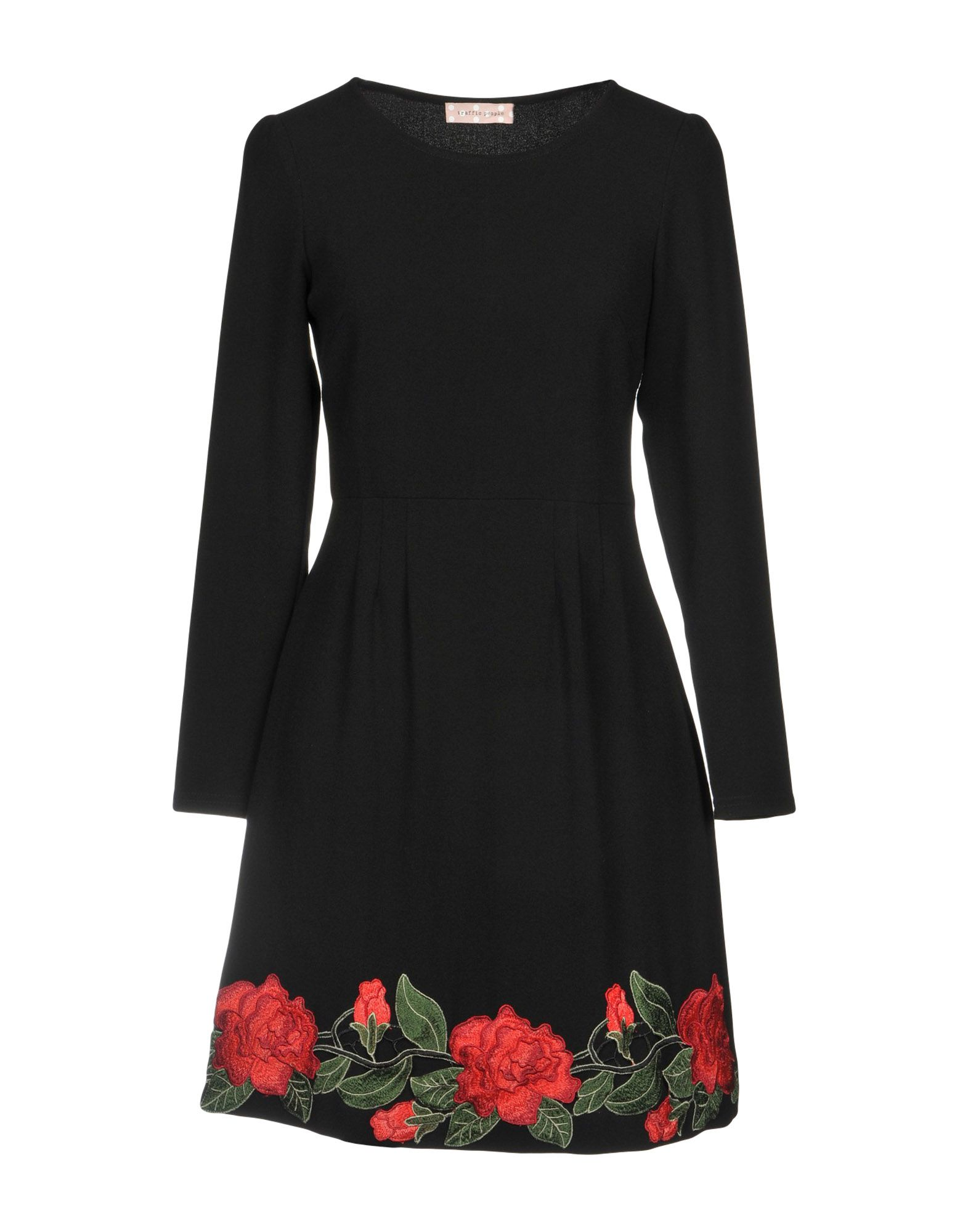 TRAFFIC PEOPLE Короткое платье цена 2017