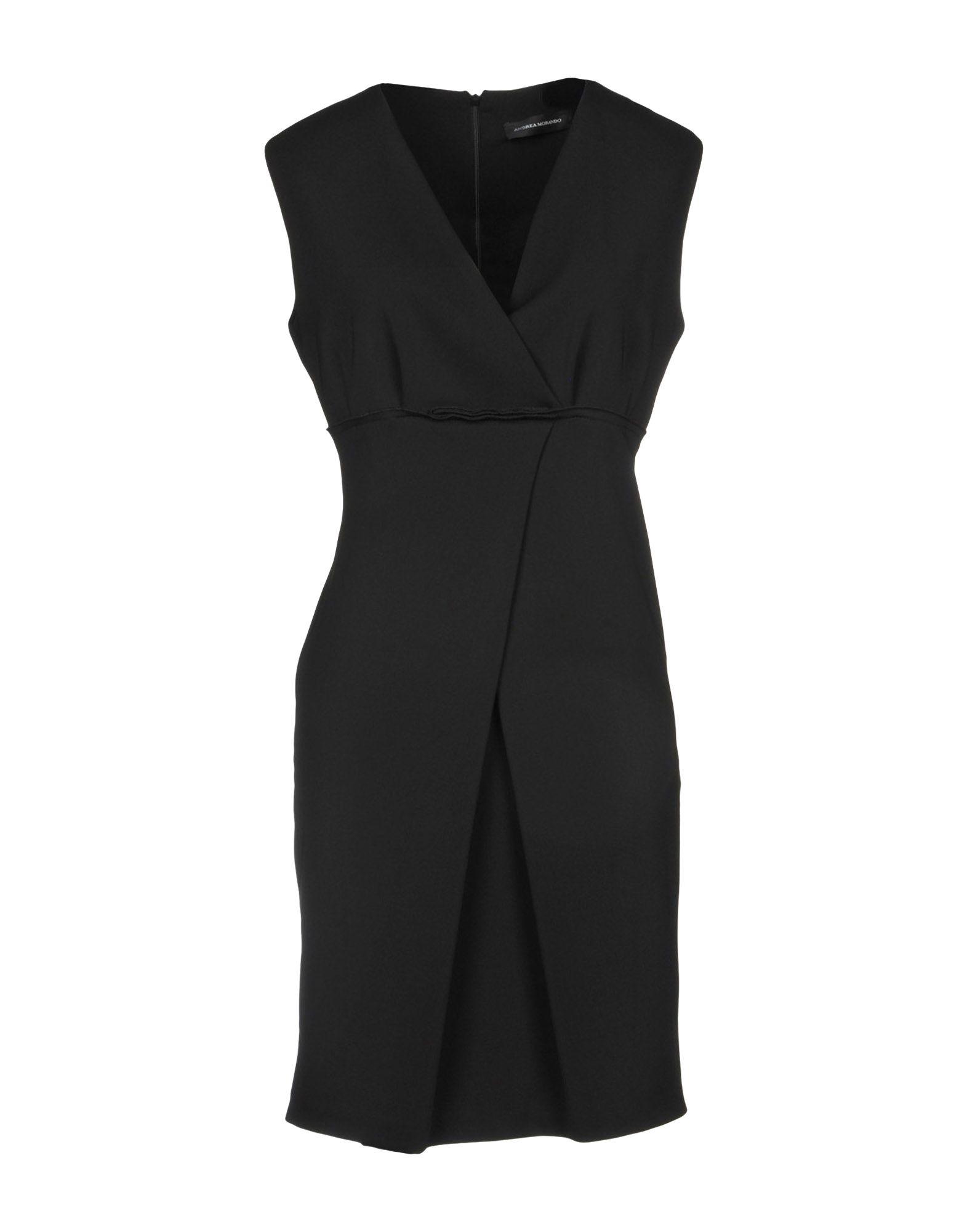 ANDREA MORANDO Короткое платье цена 2017