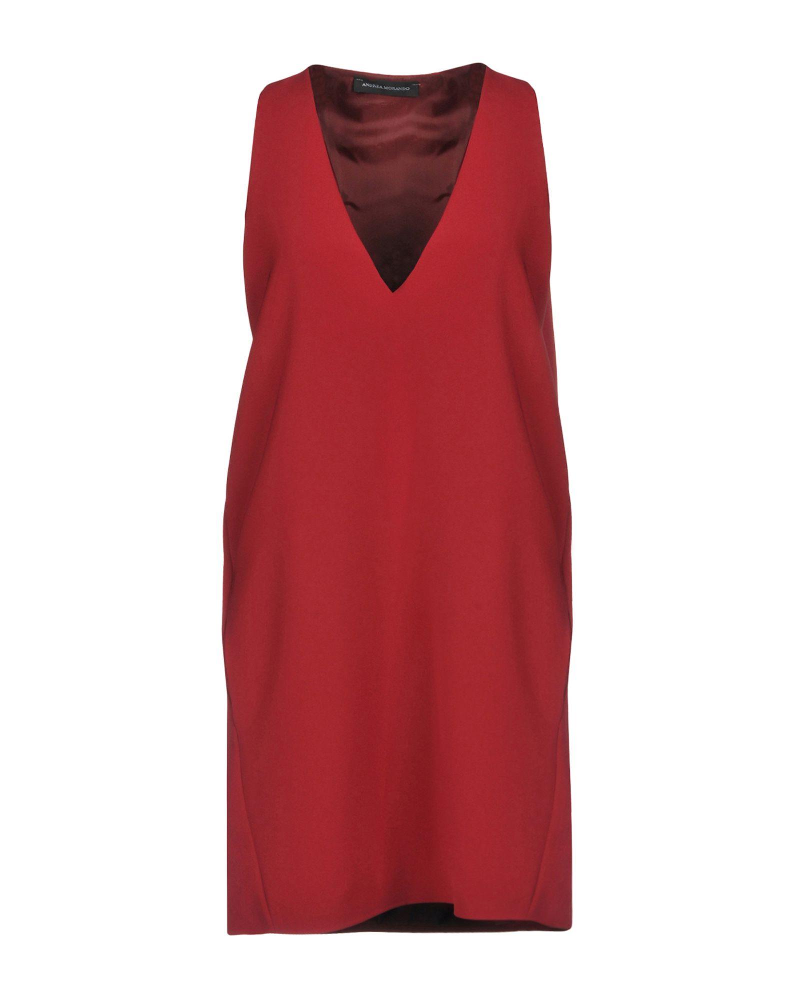 ANDREA MORANDO Короткое платье настенные часы w era 10152с