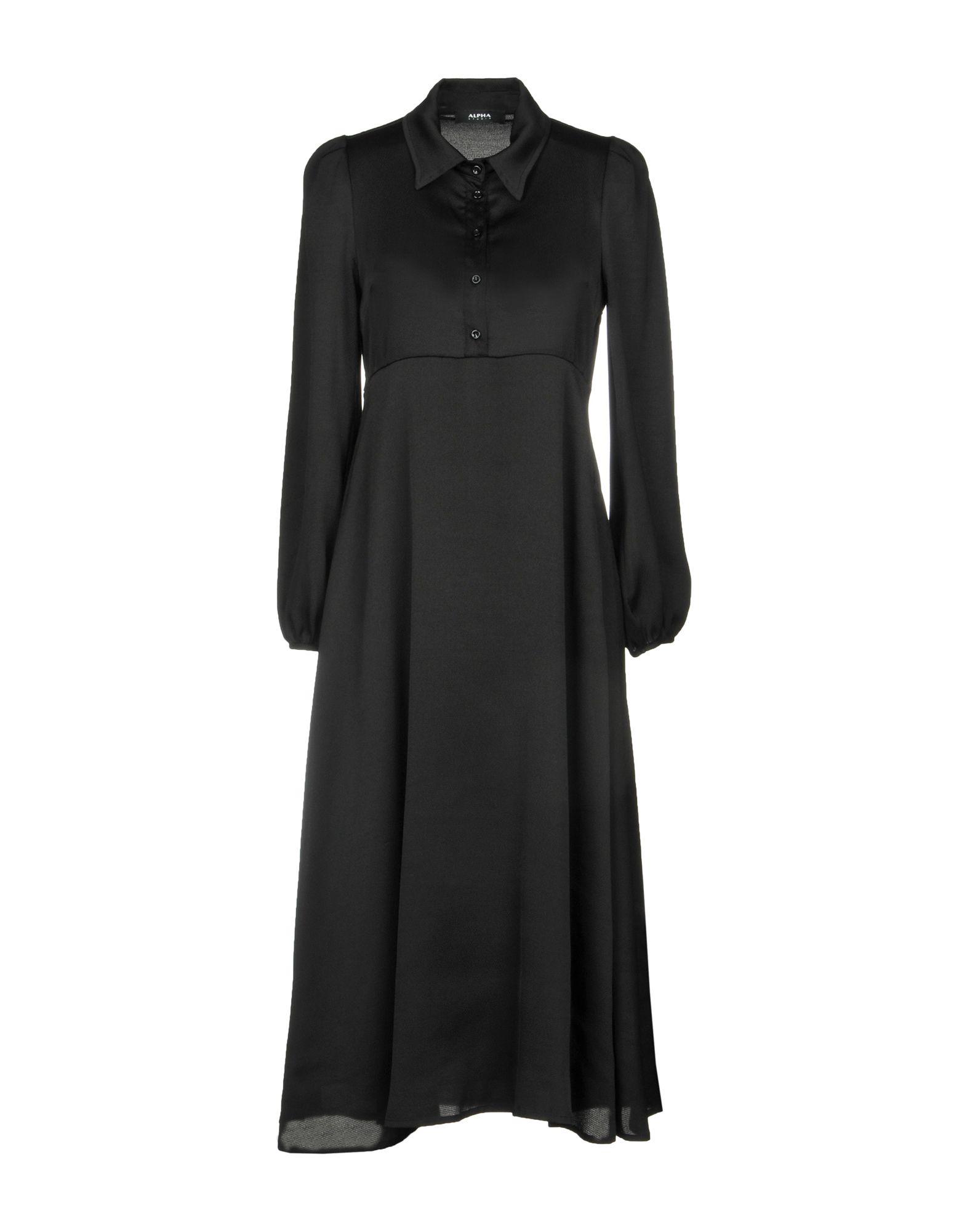 ALPHA STUDIO Платье длиной 3/4 alpha massimo rebecchi платье длиной 3 4