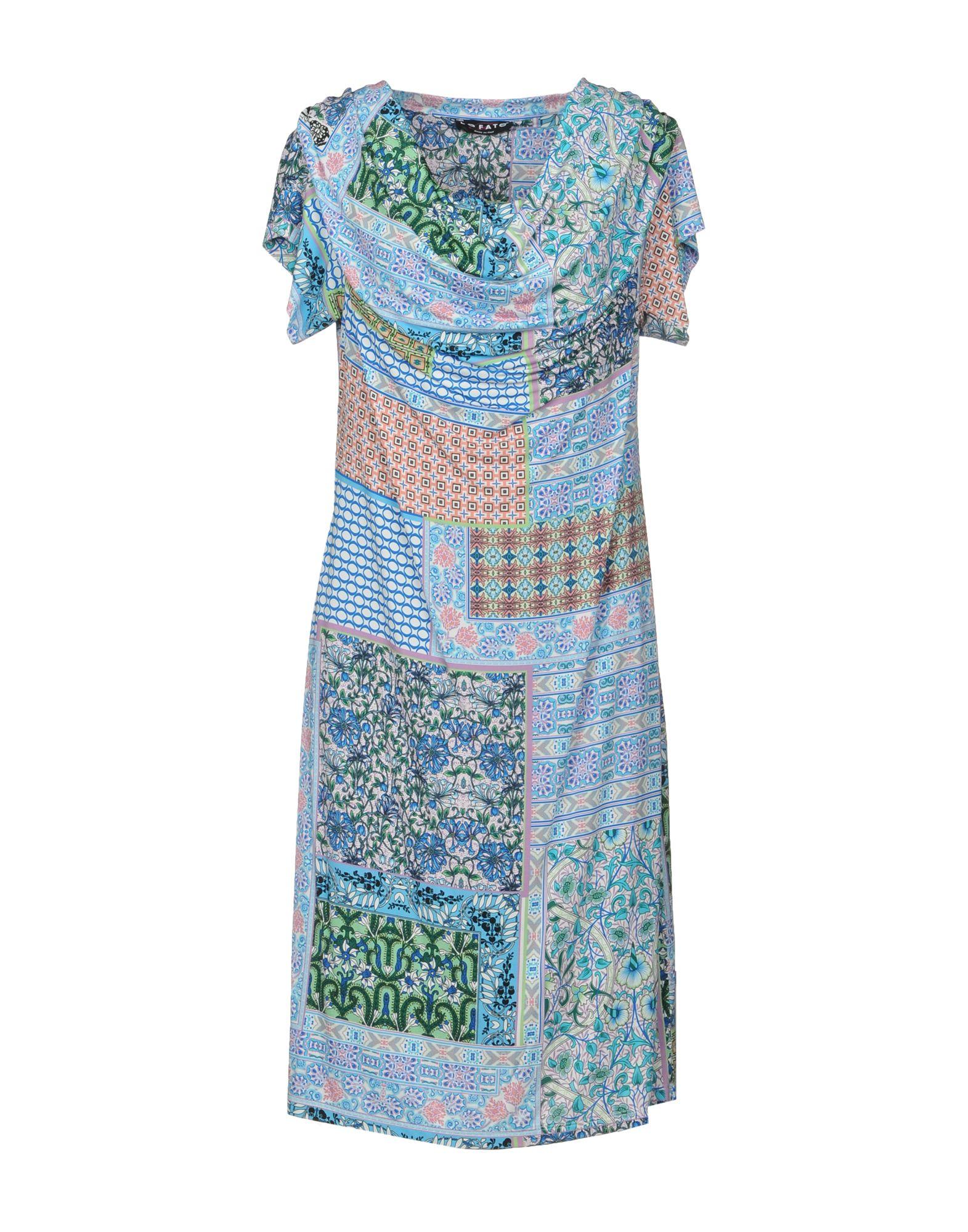 где купить LE FATE Платье до колена по лучшей цене
