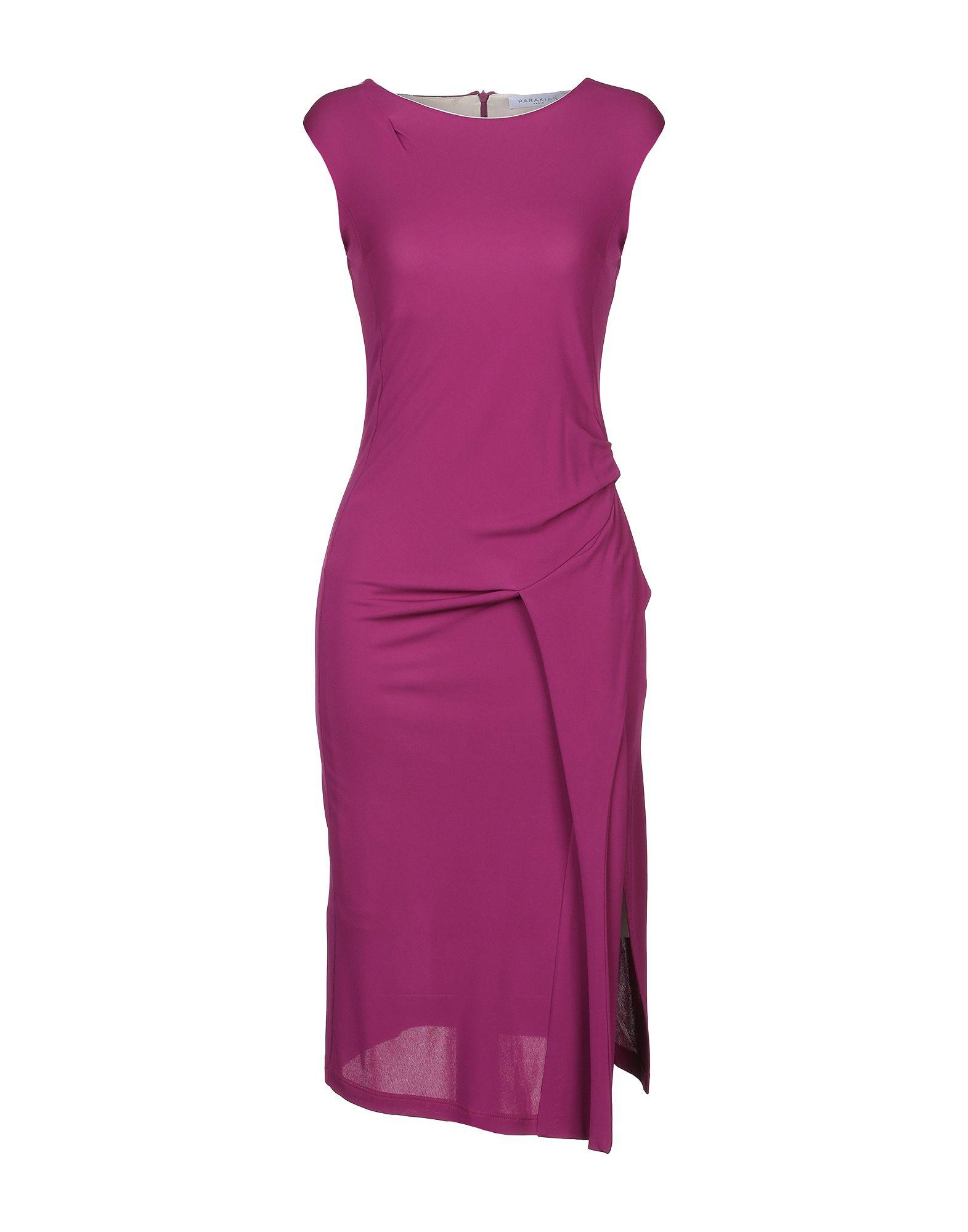 PARAKIAN Платье до колена