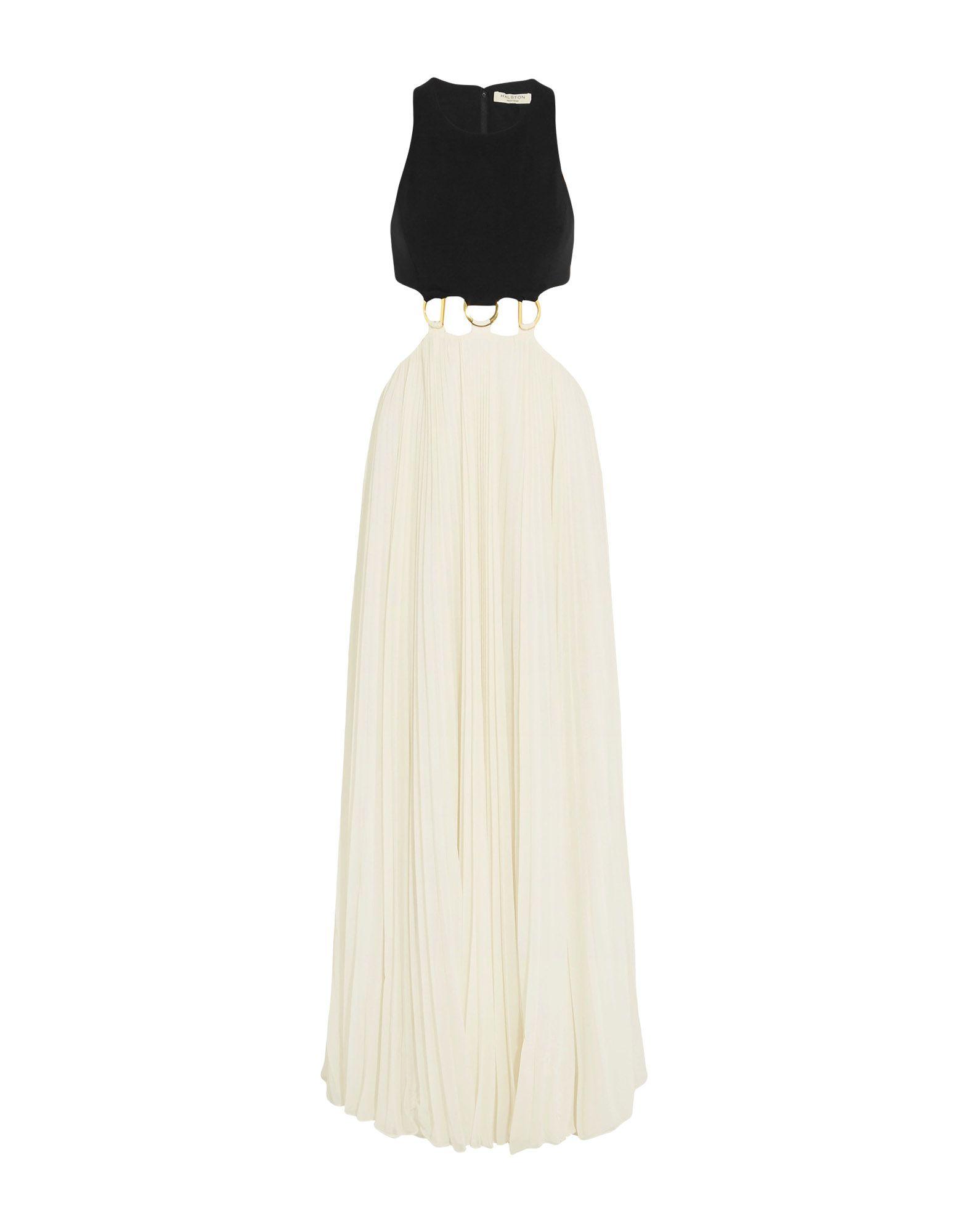 купить HALSTON HERITAGE Длинное платье по цене 11750 рублей