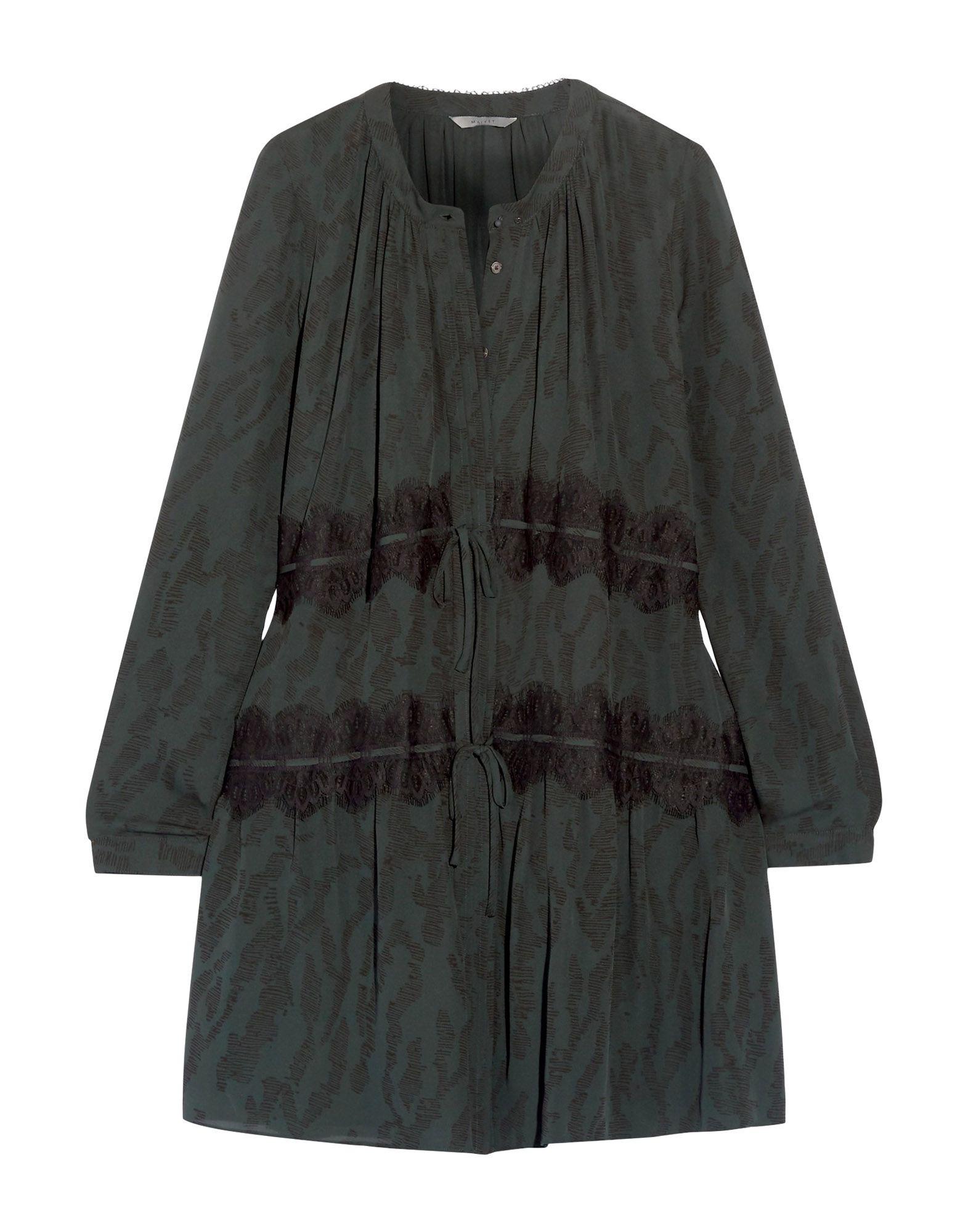 MAIYET Короткое платье платье рубашка fox yulia sway платье рубашка fox