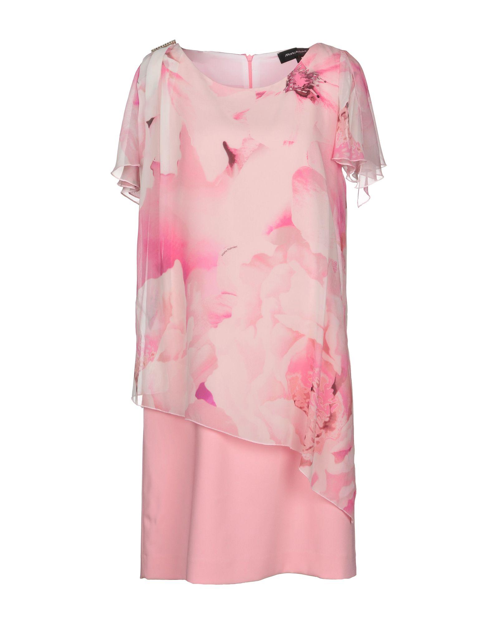 MARTA PALMIERI Короткое платье цена 2017
