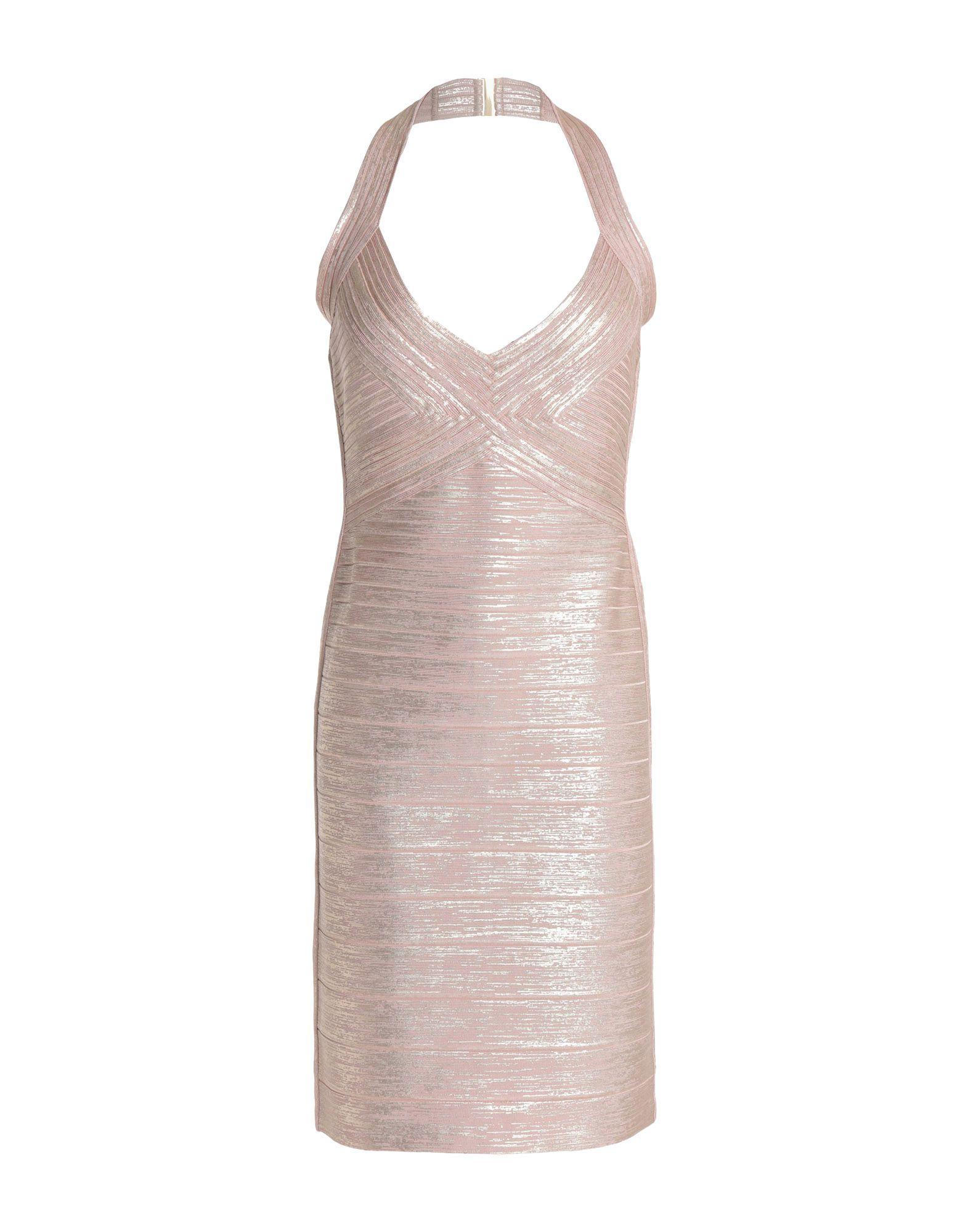 HERVÉ LÉGER Короткое платье редуктор walcom 61000