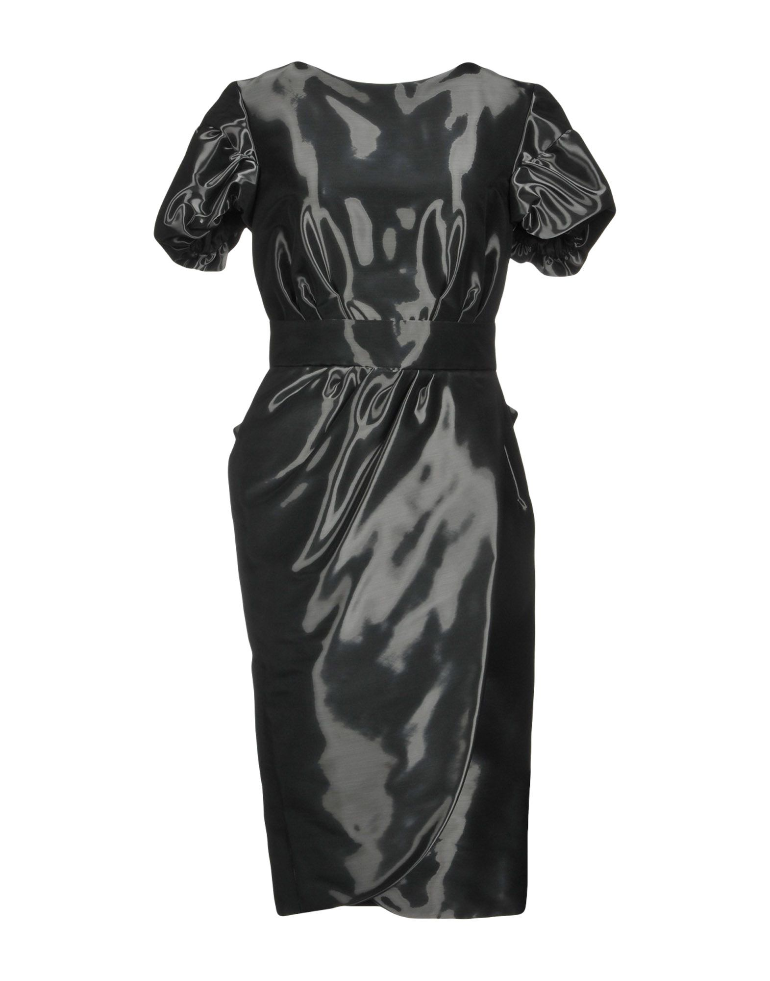 IO COUTURE Knee-Length Dress in Black
