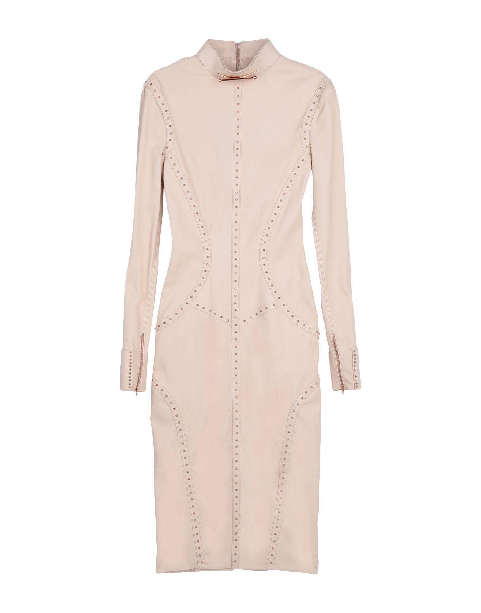 APHERO Knee-Length Dress in Pale Pink