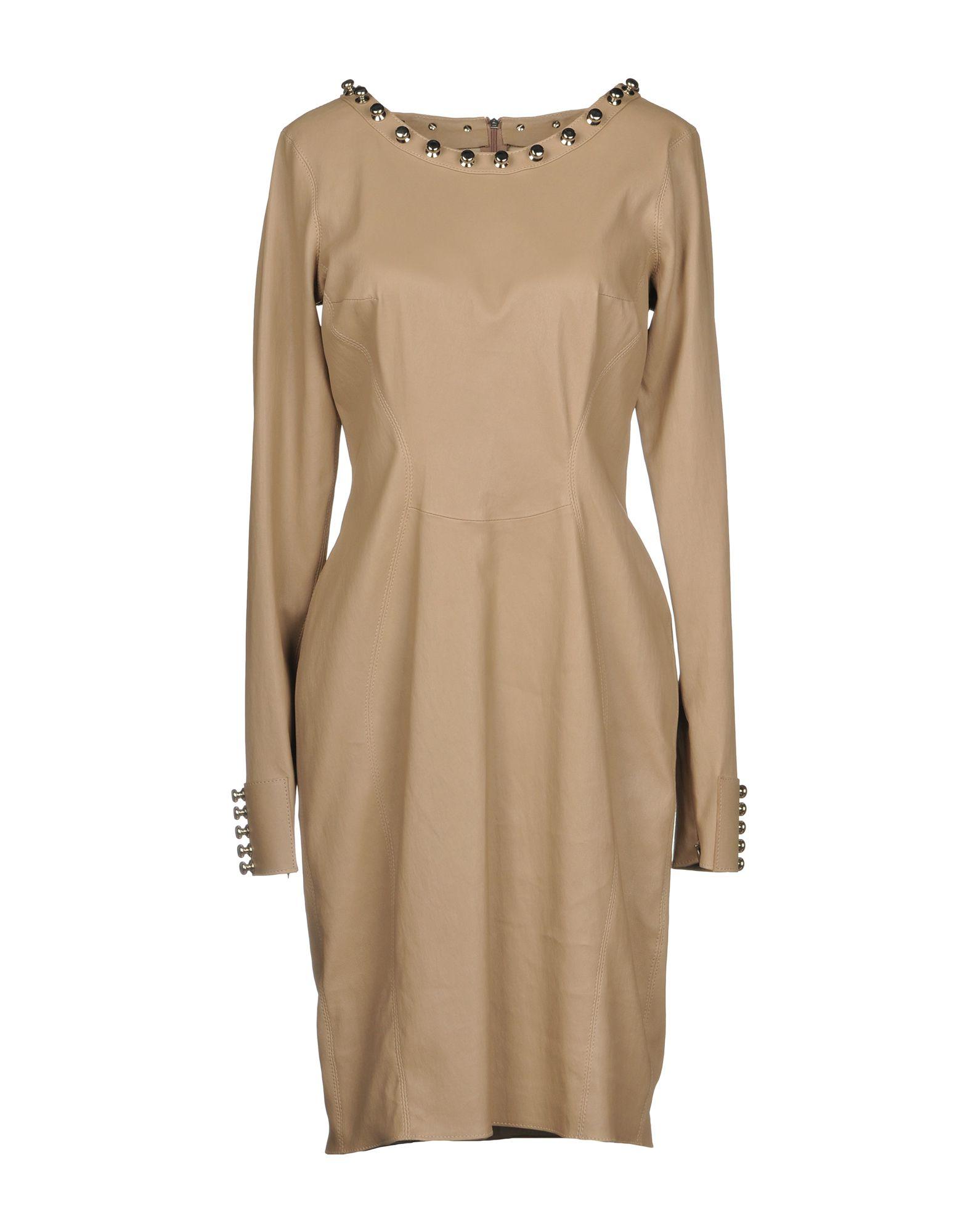 APHERO Short Dress in Beige