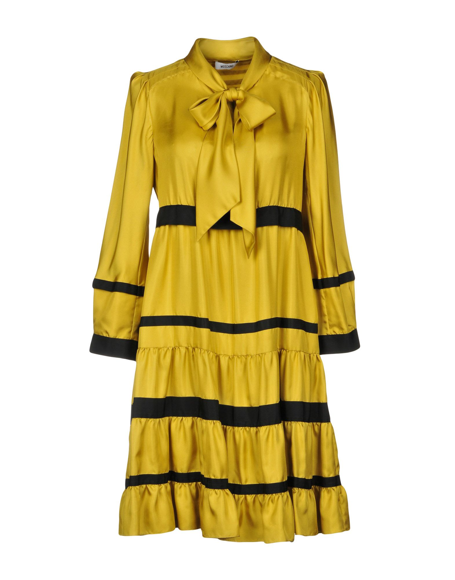 MOSCHINO Платье до колена moschino couture платье до колена