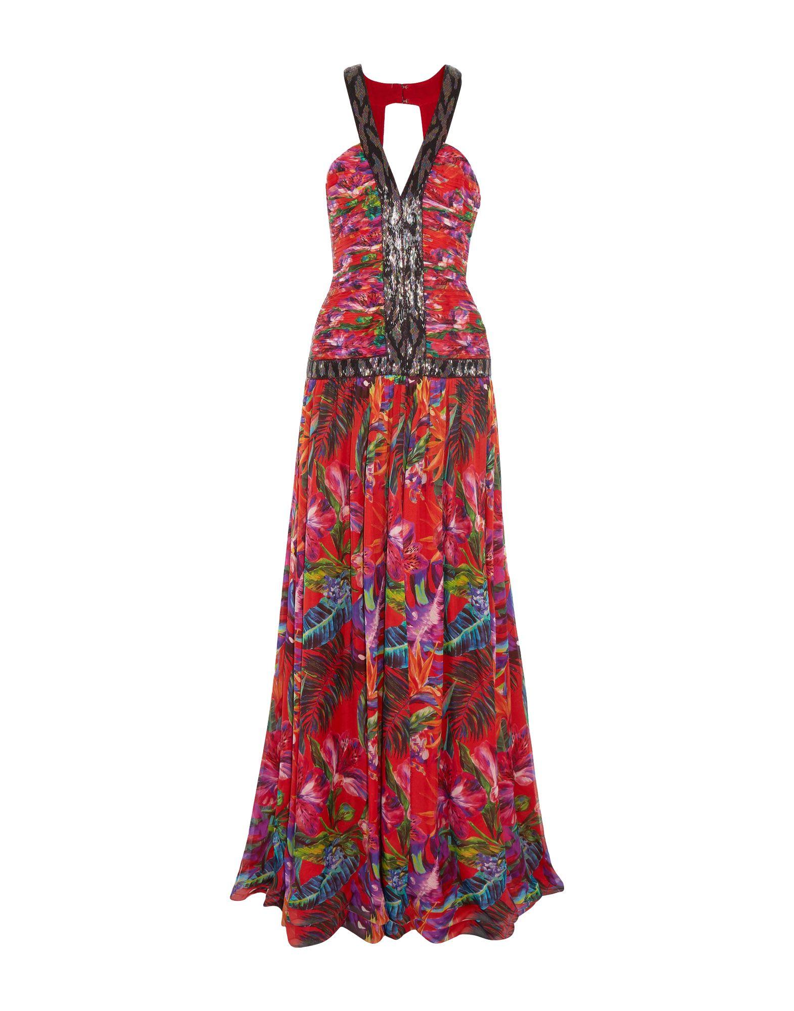 MATTHEW WILLIAMSON Длинное платье длинное платье с принтом matthew williamson длинное платье с принтом