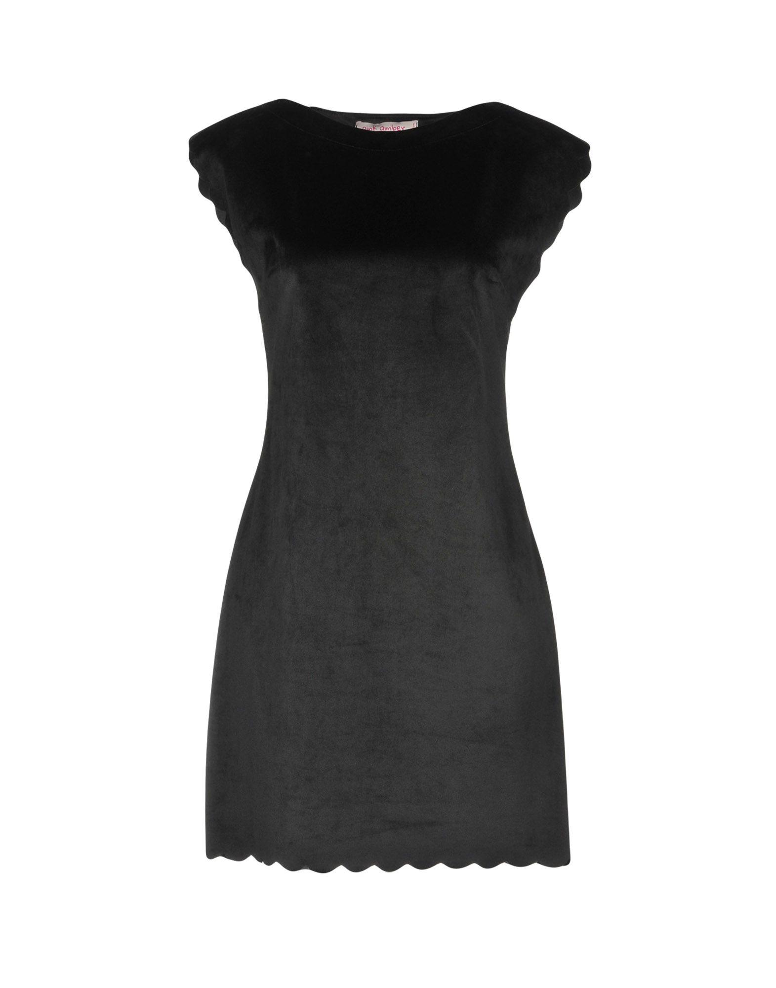 PINK AMBER Короткое платье