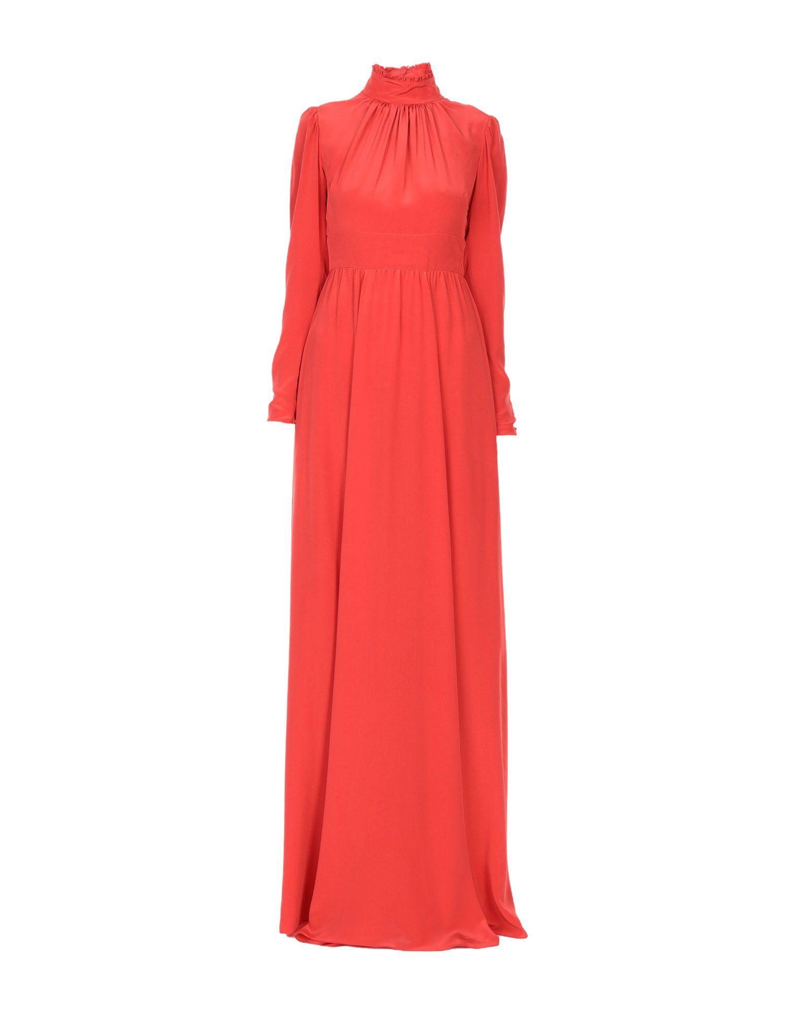 ROCHAS Длинное платье rochas шерстяное платье с кулиской