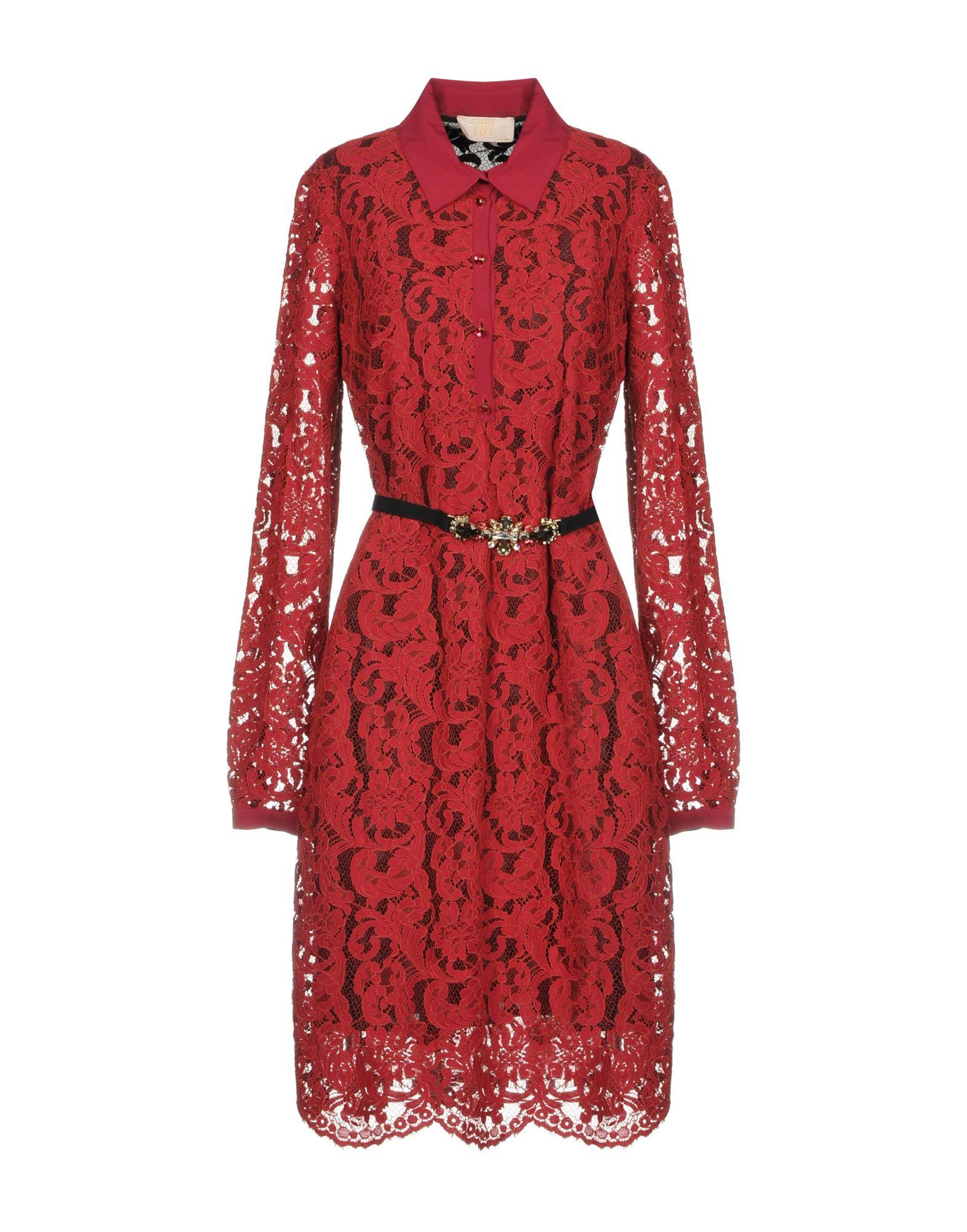 VDP COLLECTION Короткое платье vdp collection ремень