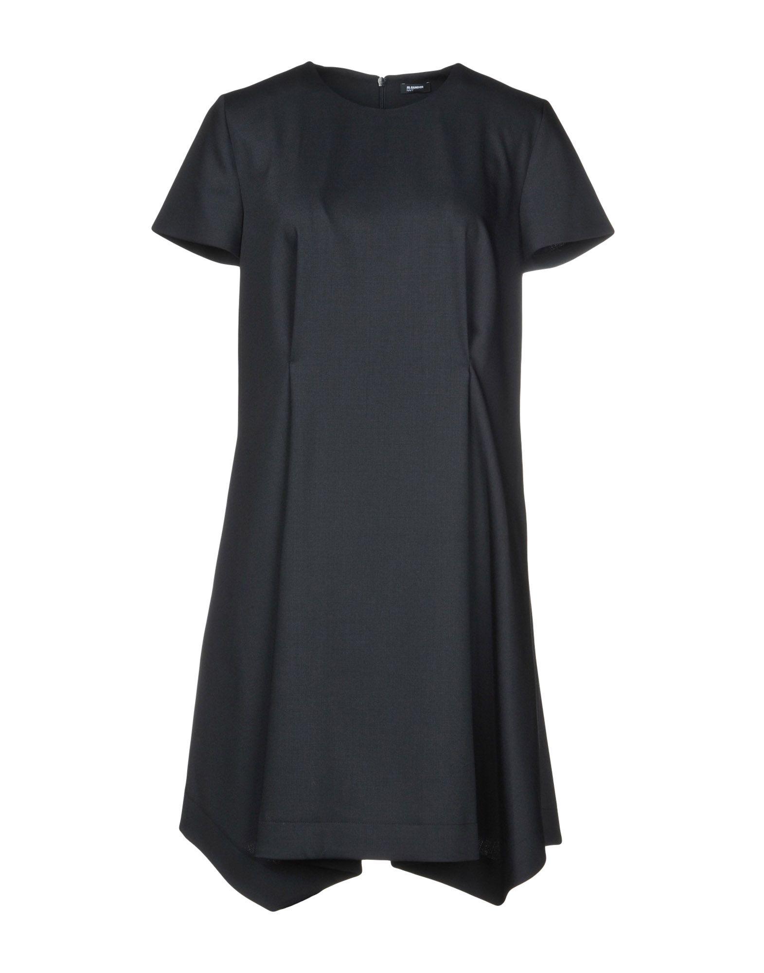 JIL SANDER NAVY Короткое платье