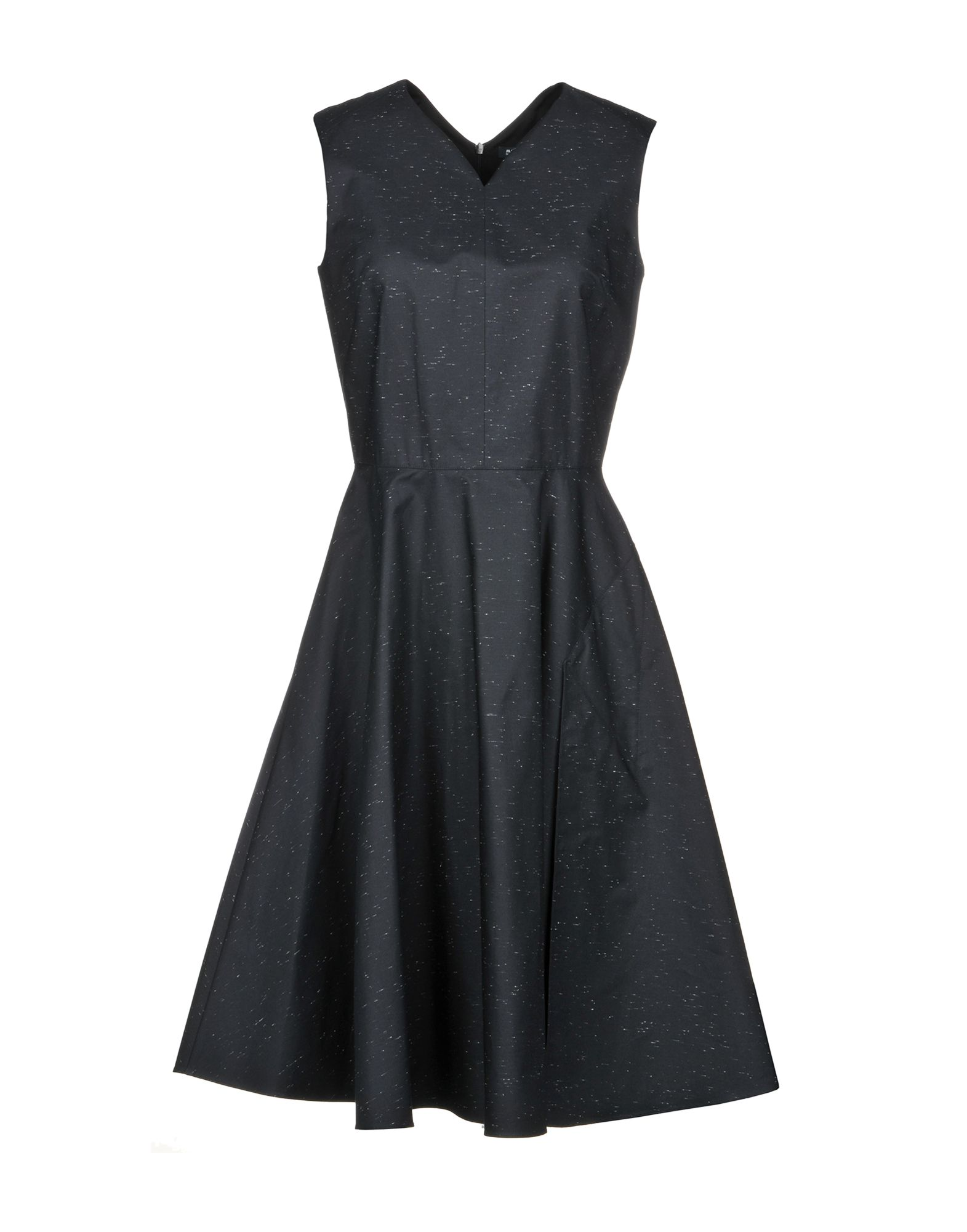 Фото - JIL SANDER NAVY Платье до колена active cut out elastic vest in navy