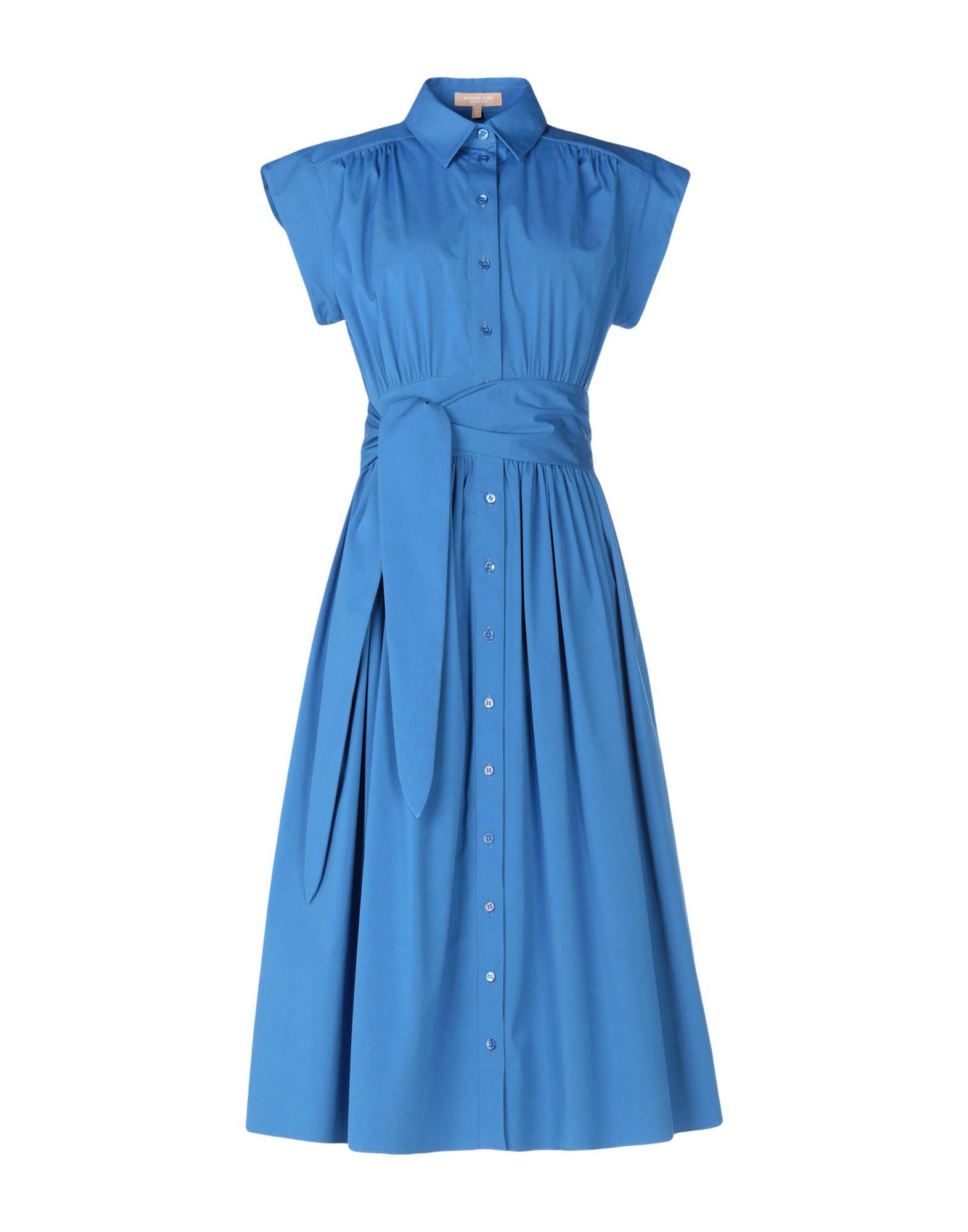 MICHAEL KORS COLLECTION Платье до колена michael kors collection платье до колена
