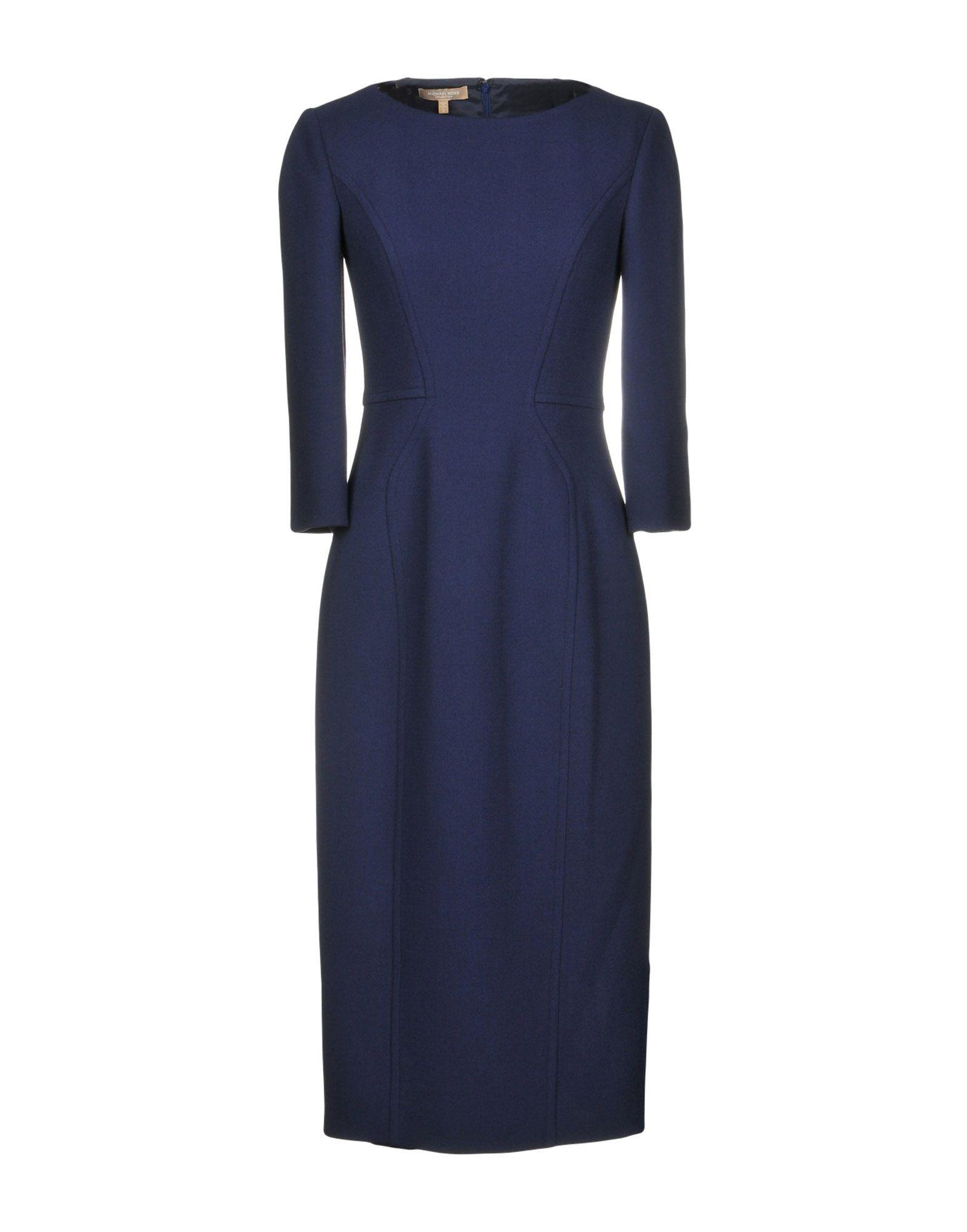 Фото - MICHAEL KORS COLLECTION Платье до колена michael kors collection юбка длиной 3 4