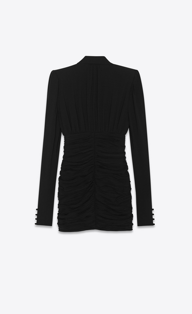 SAINT LAURENT ドレス レディース high waisted Lavallière dress b_V4