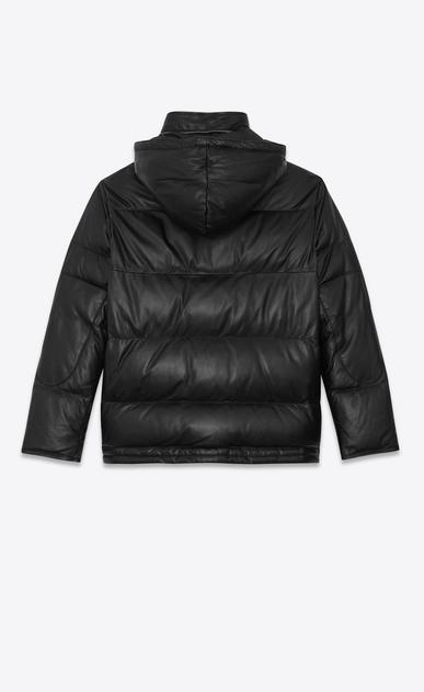 SAINT LAURENT レザージャケット レディース lambskin Down jacket b_V4