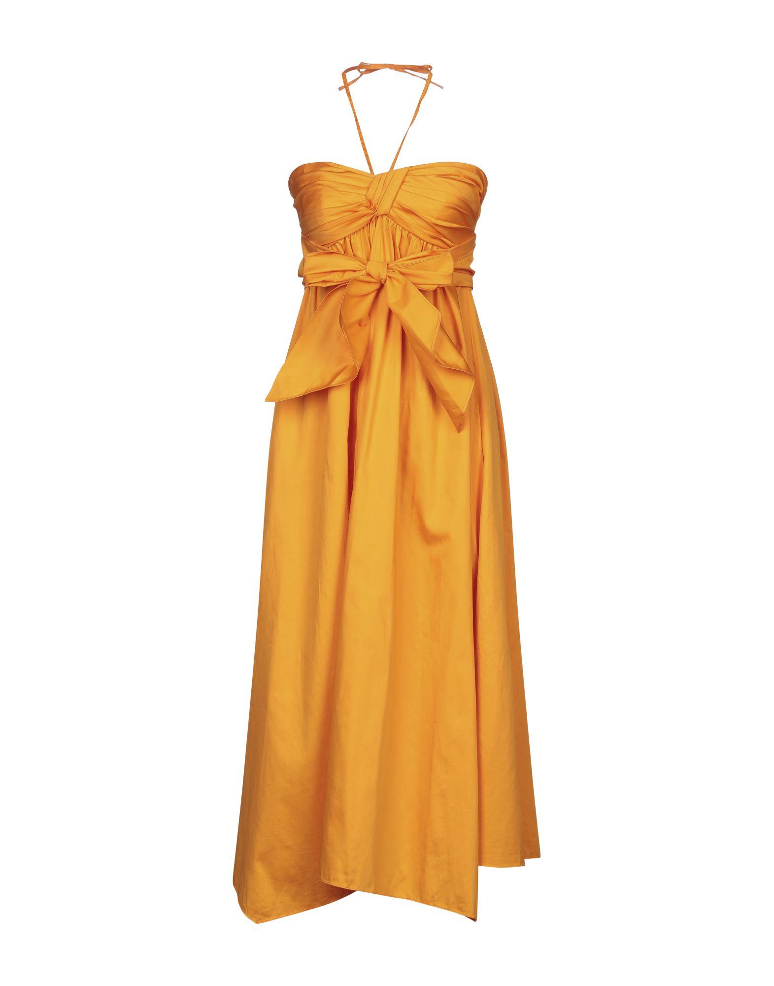JIL SANDER NAVY Платье длиной 3/4