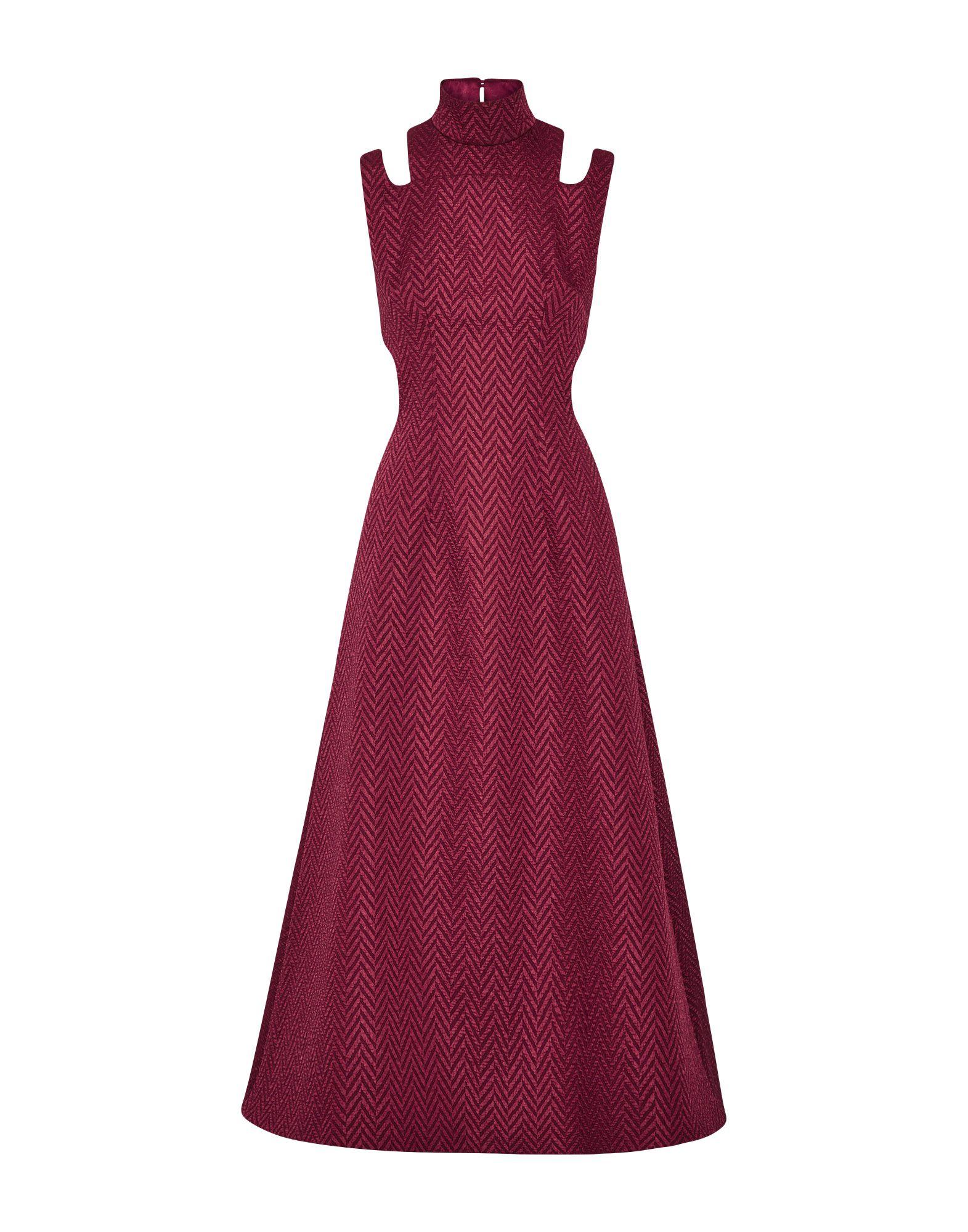 EMILIA WICKSTEAD Длинное платье