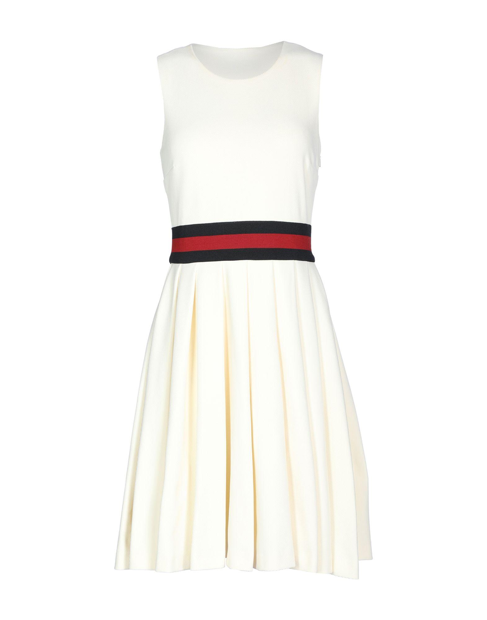 gucci однотонное платье GUCCI Короткое платье